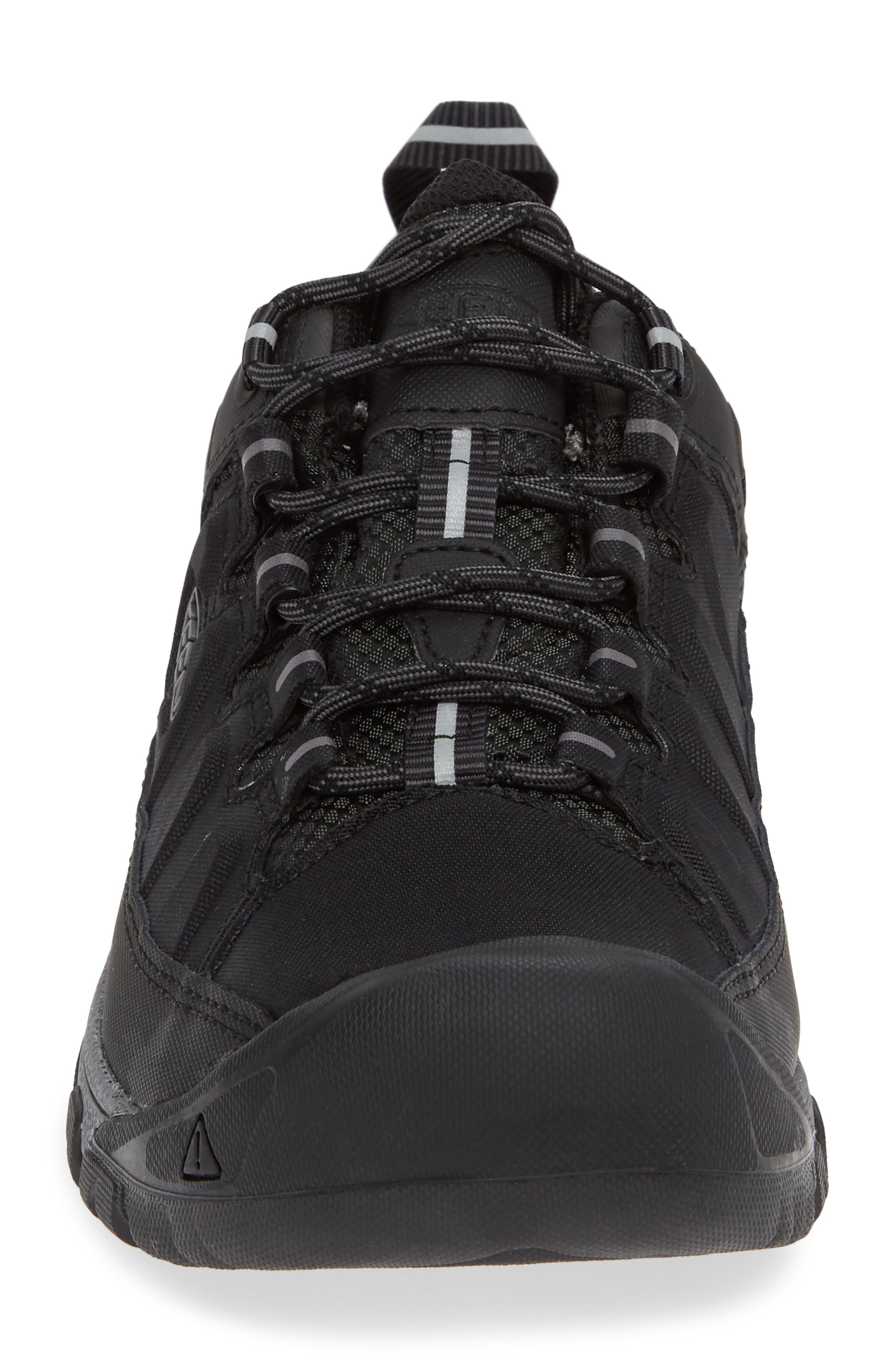 Targhee EXP Waterproof Hiking Shoe,                             Alternate thumbnail 4, color,                             BLACK/ STEEL GREY