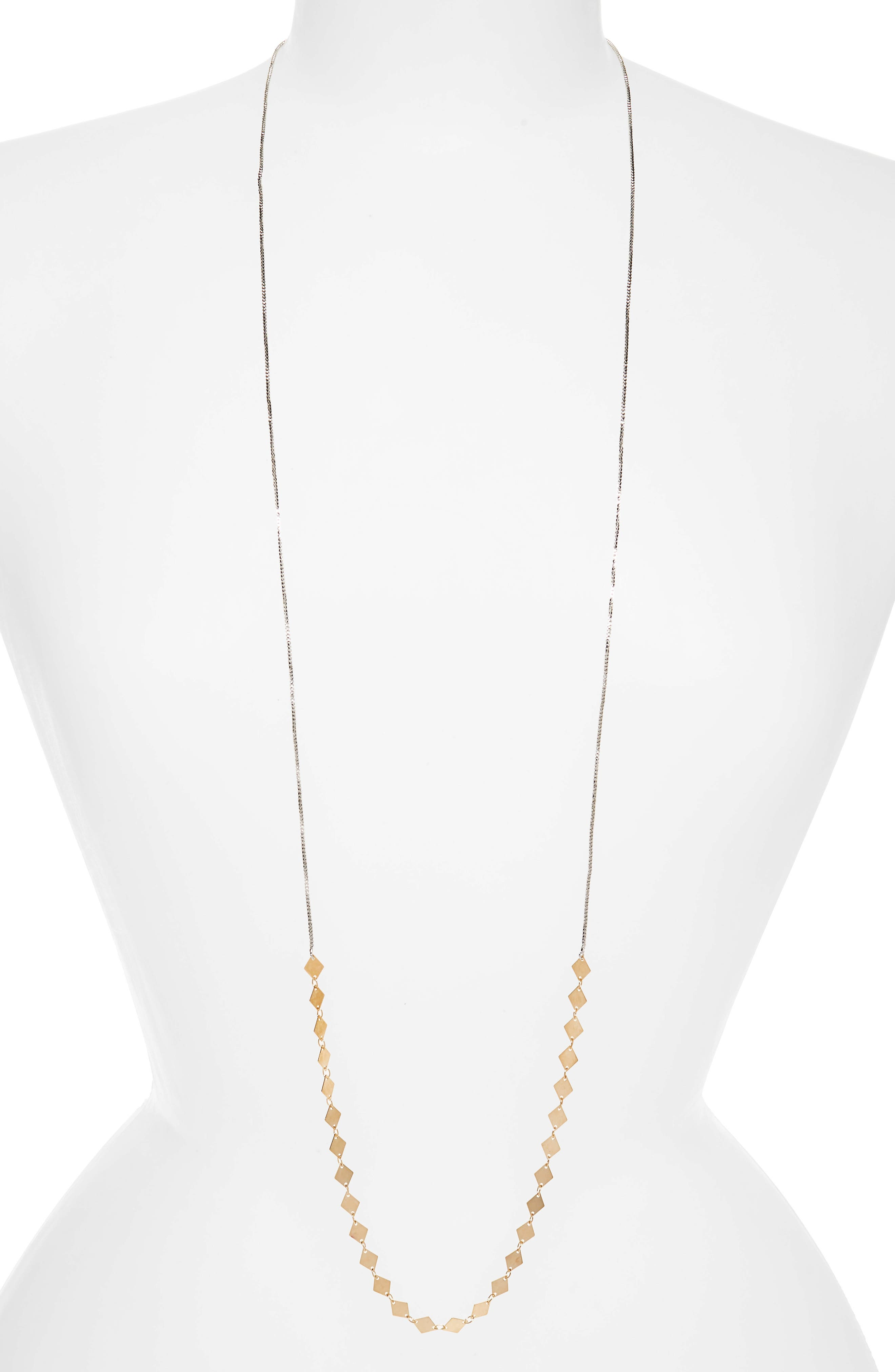 MAD JEWELS Long Chain Necklace, Main, color, 040