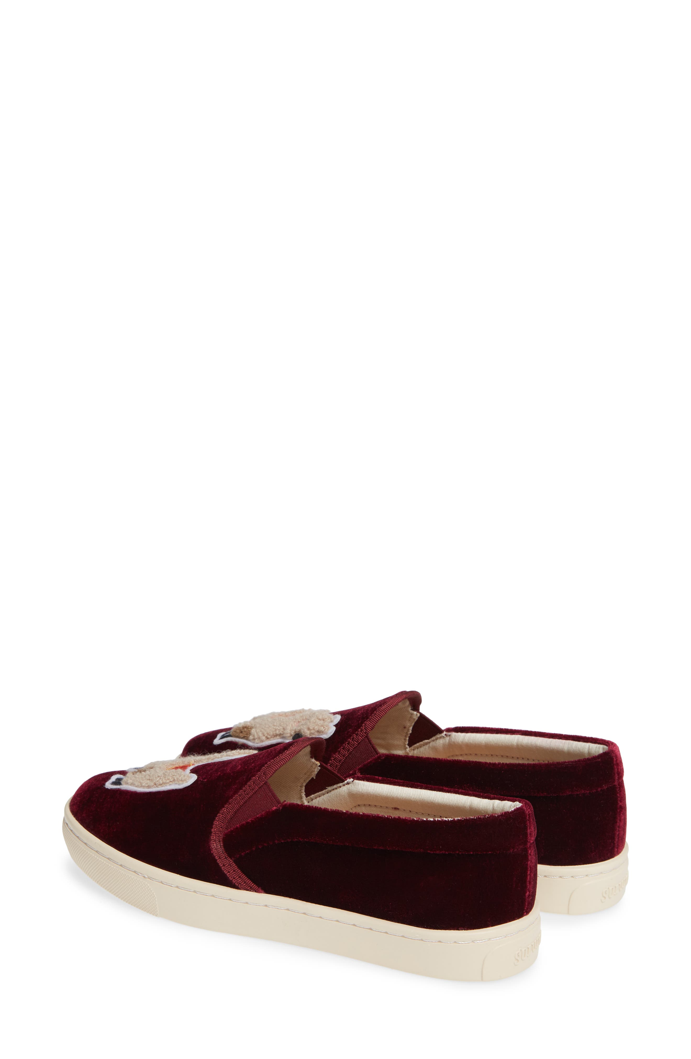 Velvet Sneaker,                             Alternate thumbnail 2, color,                             931