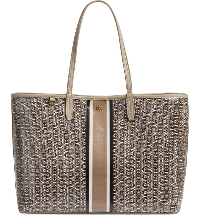Tory Burch Gemini Link Coated Canvas Tote | Nordstrom