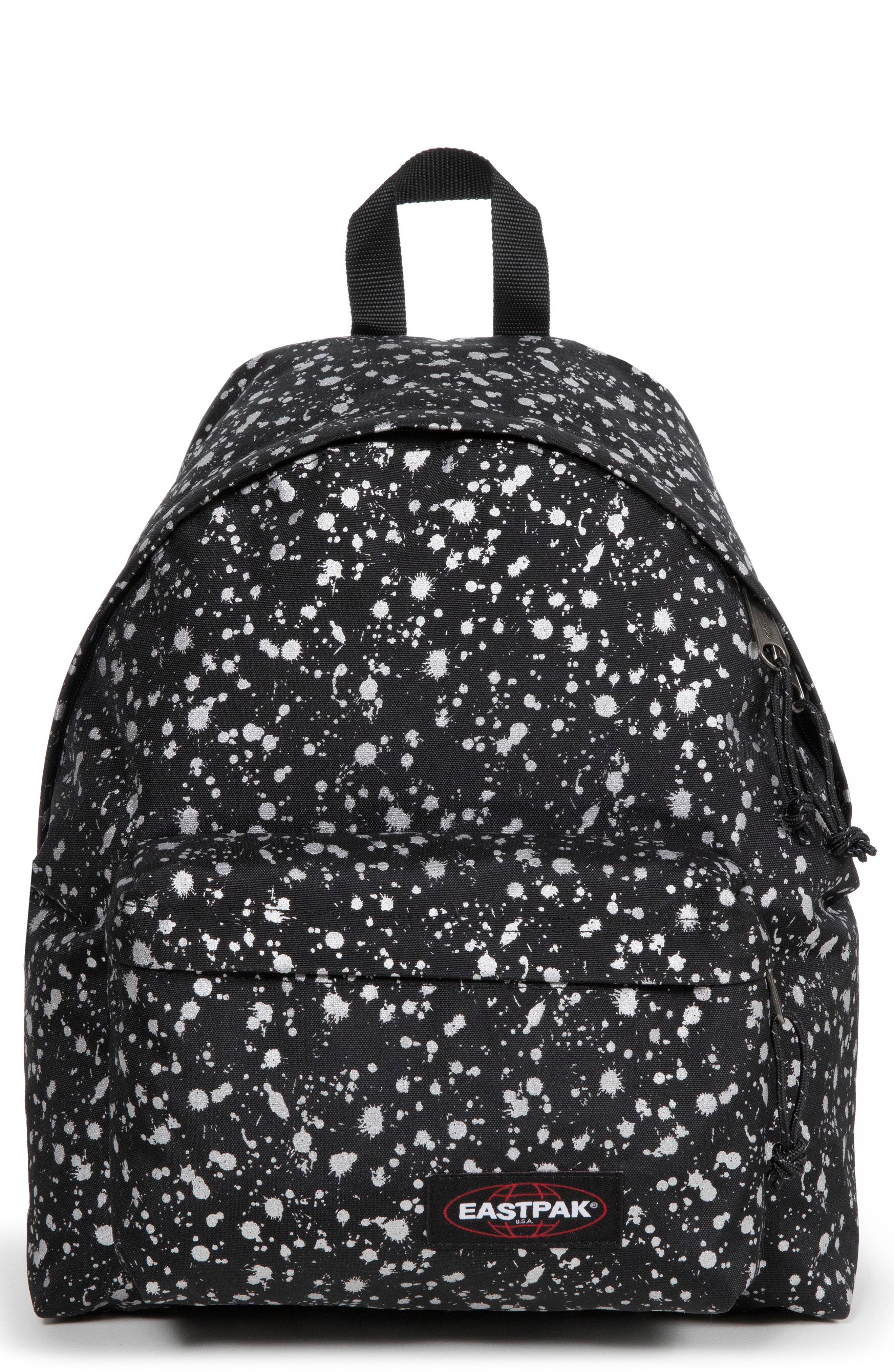 Padded Pak'r<sup>®</sup> Mist Canvas Backpack,                         Main,                         color, SILVER MIST