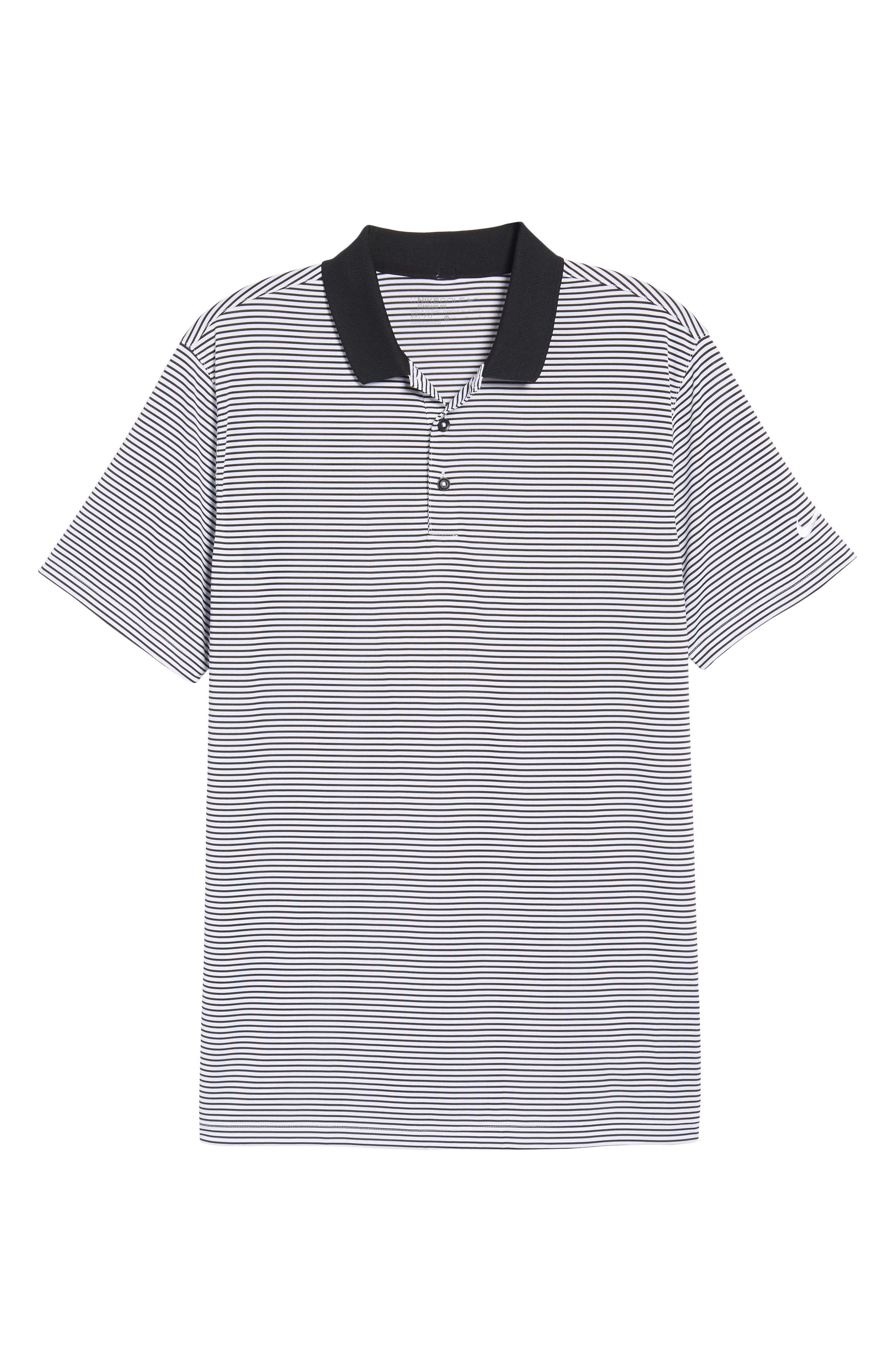 'Victory Stripe' Dri-FIT Golf Polo,                         Main,                         color, 010