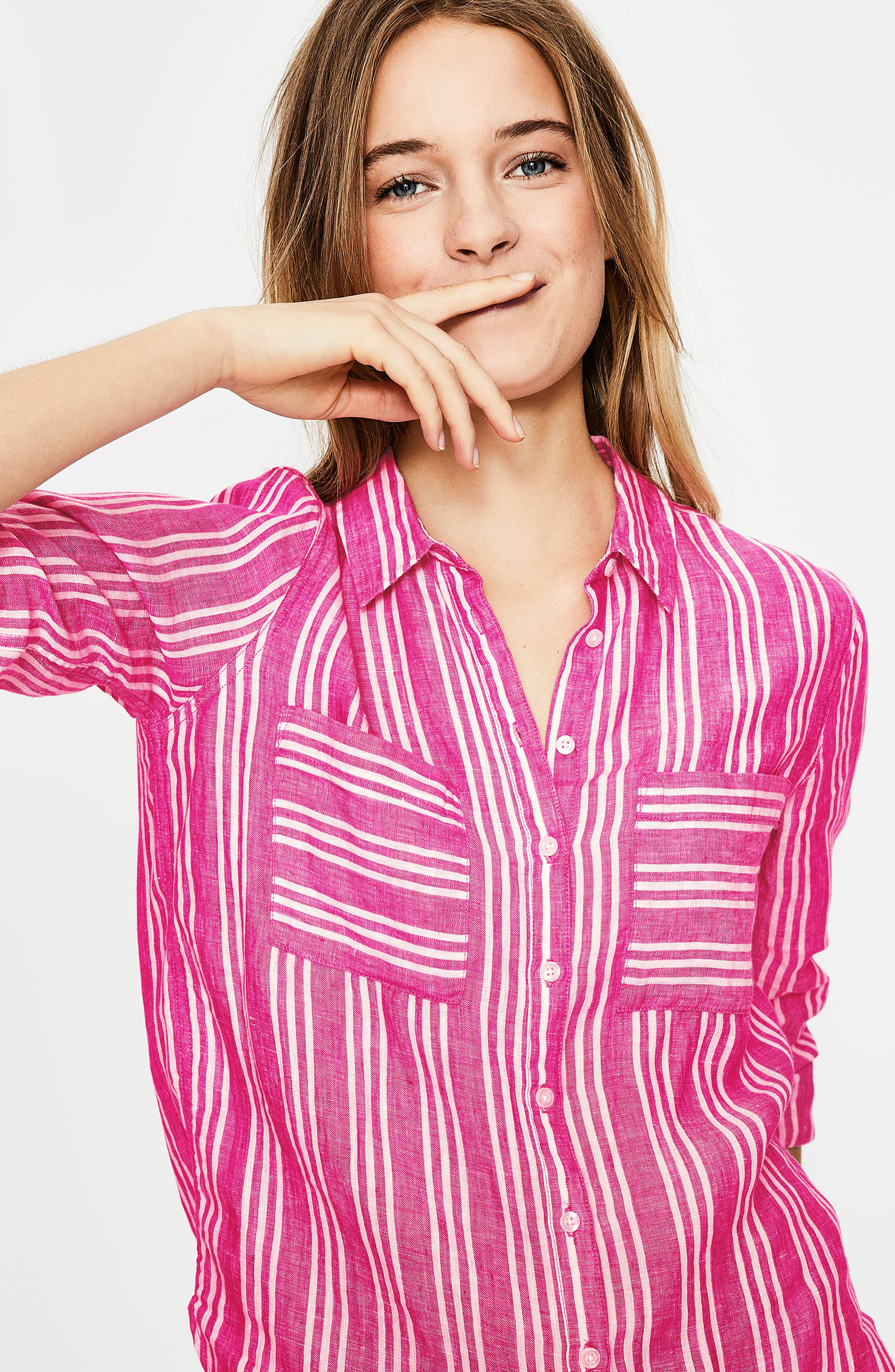 Linen Shirt,                             Alternate thumbnail 11, color,