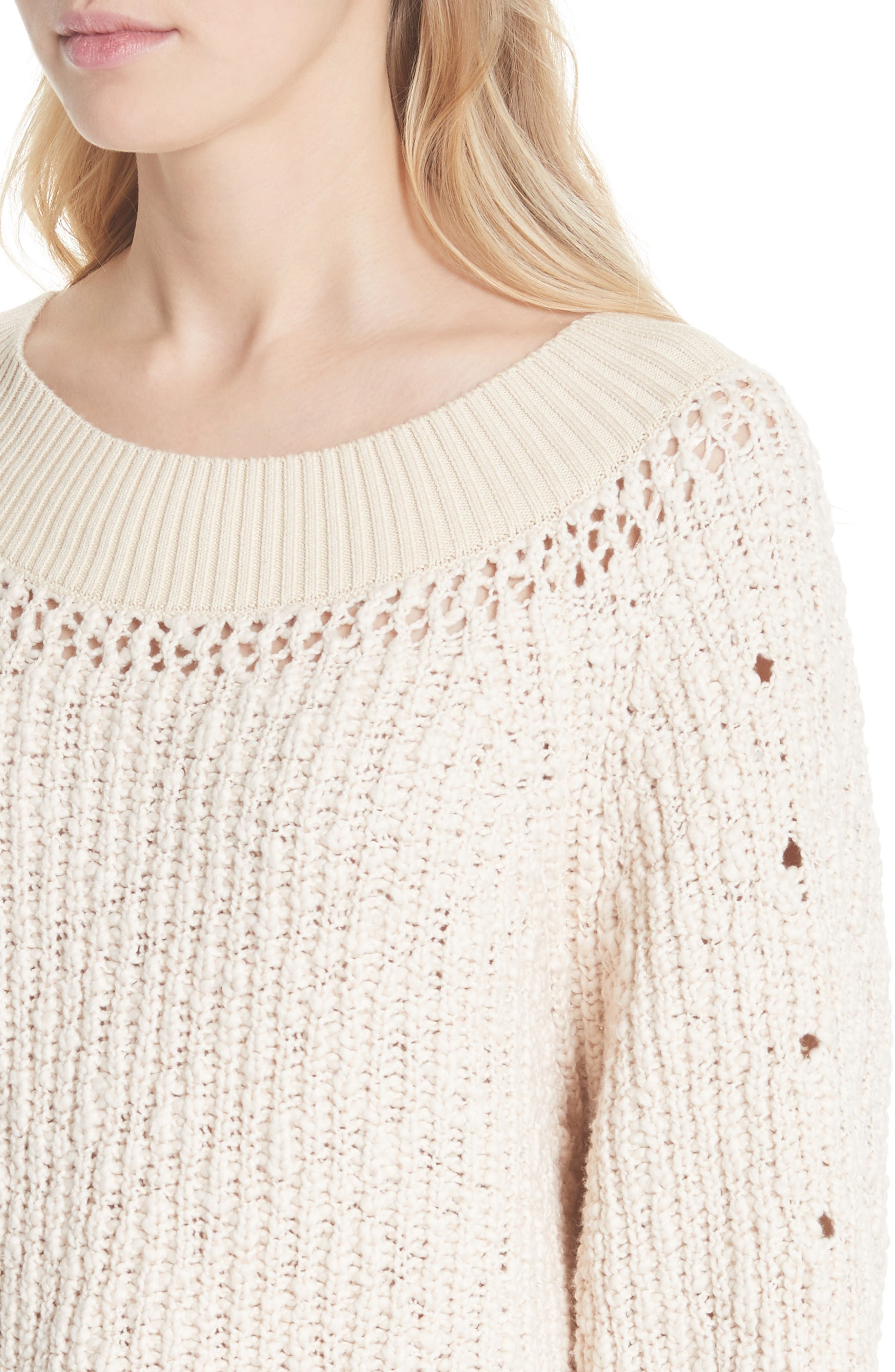Pandora's Boatneck Sweater,                             Alternate thumbnail 16, color,
