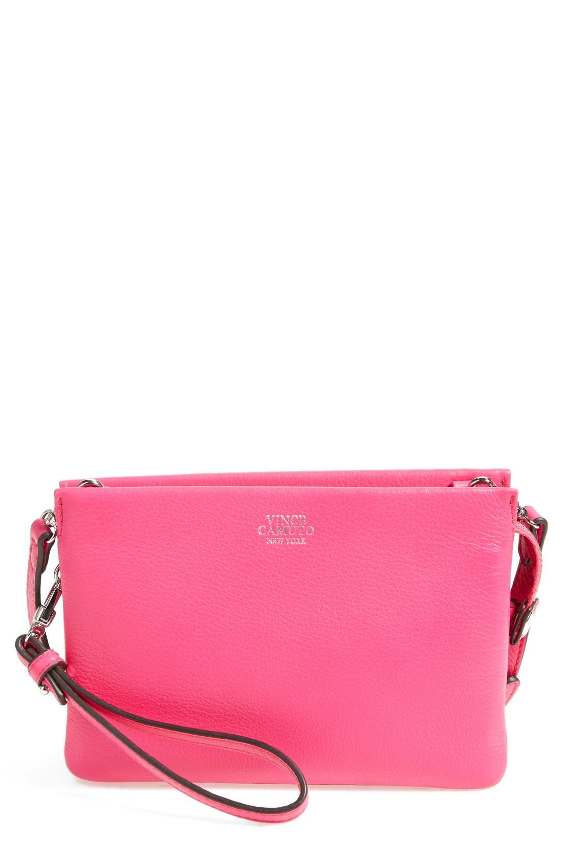 'Cami' Leather Crossbody Bag,                             Main thumbnail 26, color,
