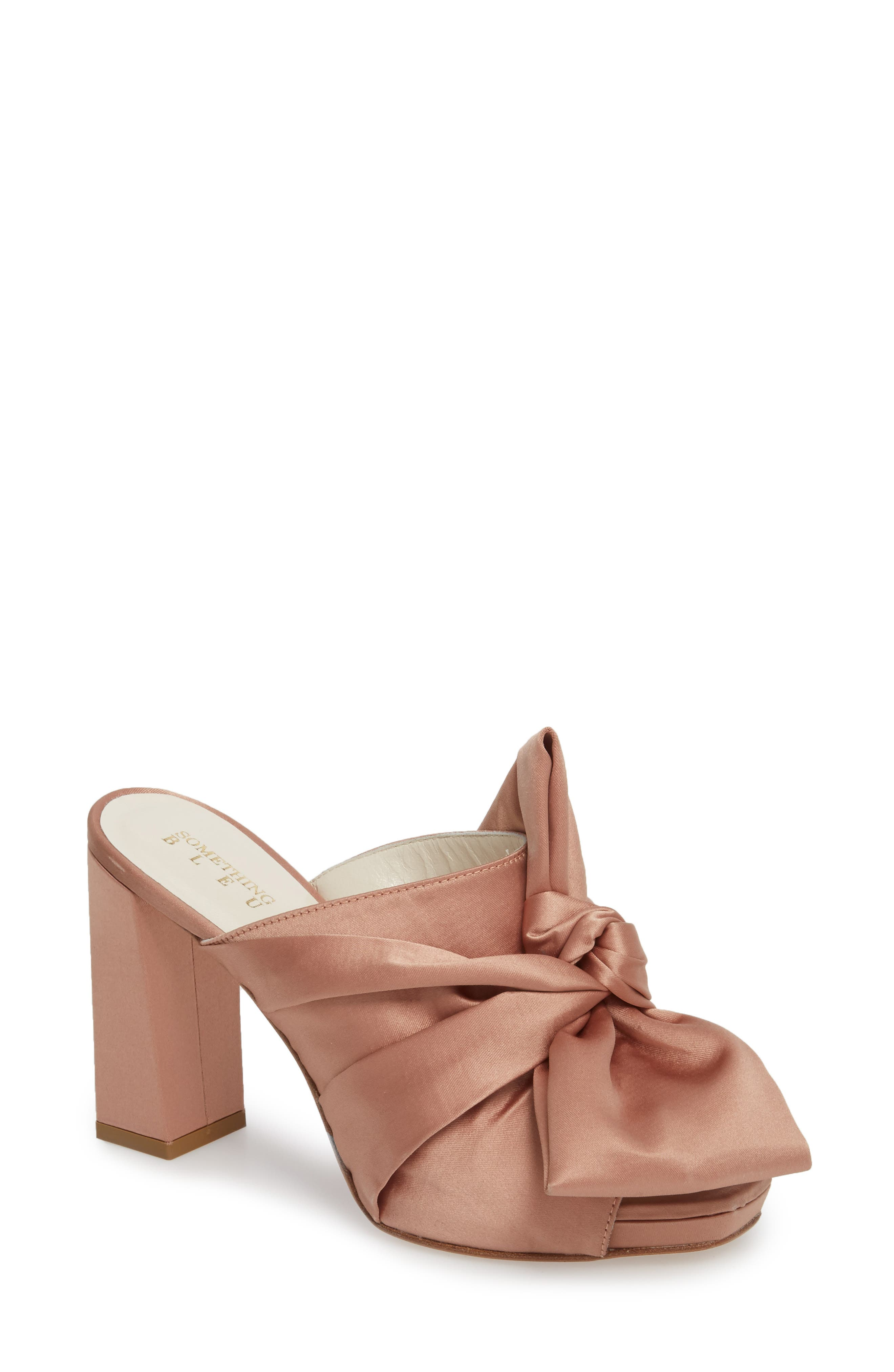 Elisa Knotted Bow Mule,                             Main thumbnail 3, color,