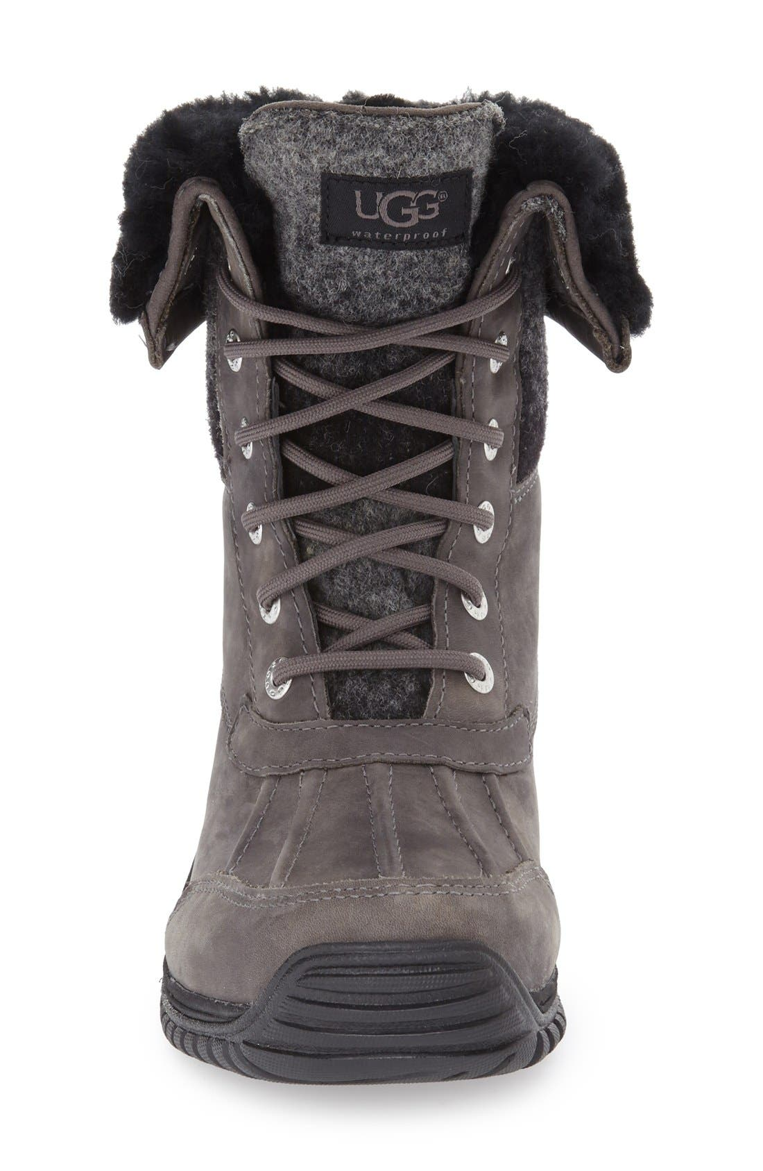 UGG<SUP>®</SUP>,                             Adirondack Waterproof Insulated Winter Boot,                             Alternate thumbnail 3, color,                             020