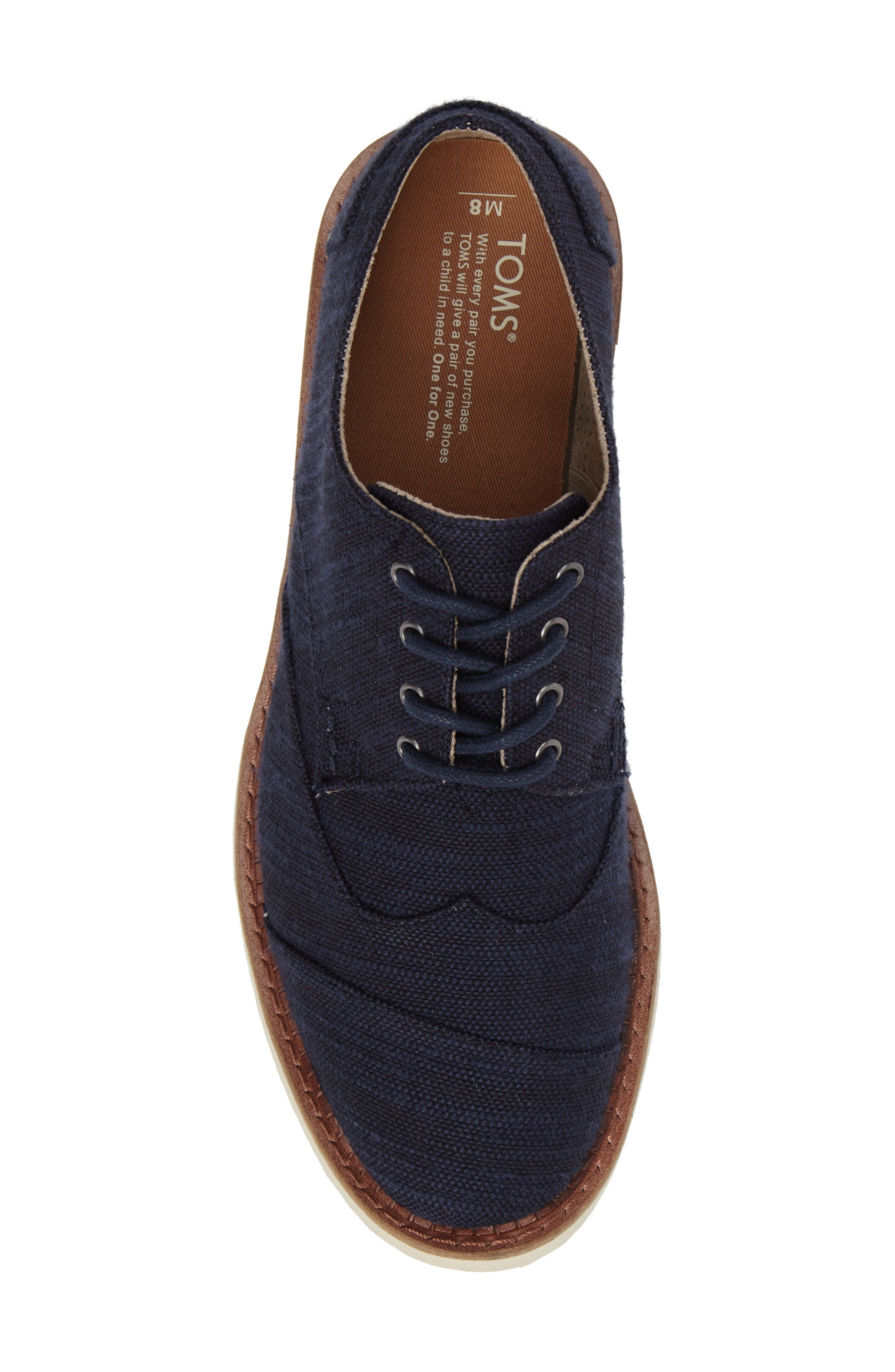 'Classic Brogue' Cotton Twill Derby,                             Alternate thumbnail 68, color,