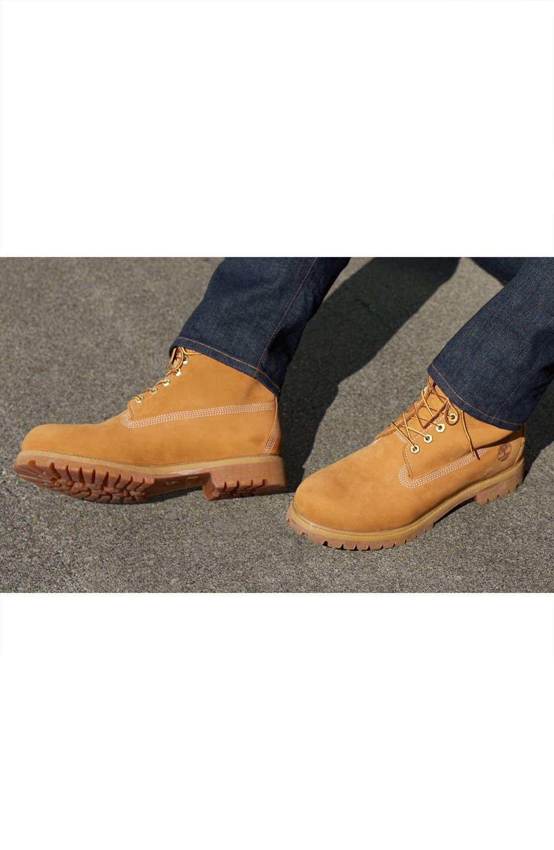 Six Inch Classic Waterproof Boots Series - Premium Waterproof Boot,                         Main,                         color, 001