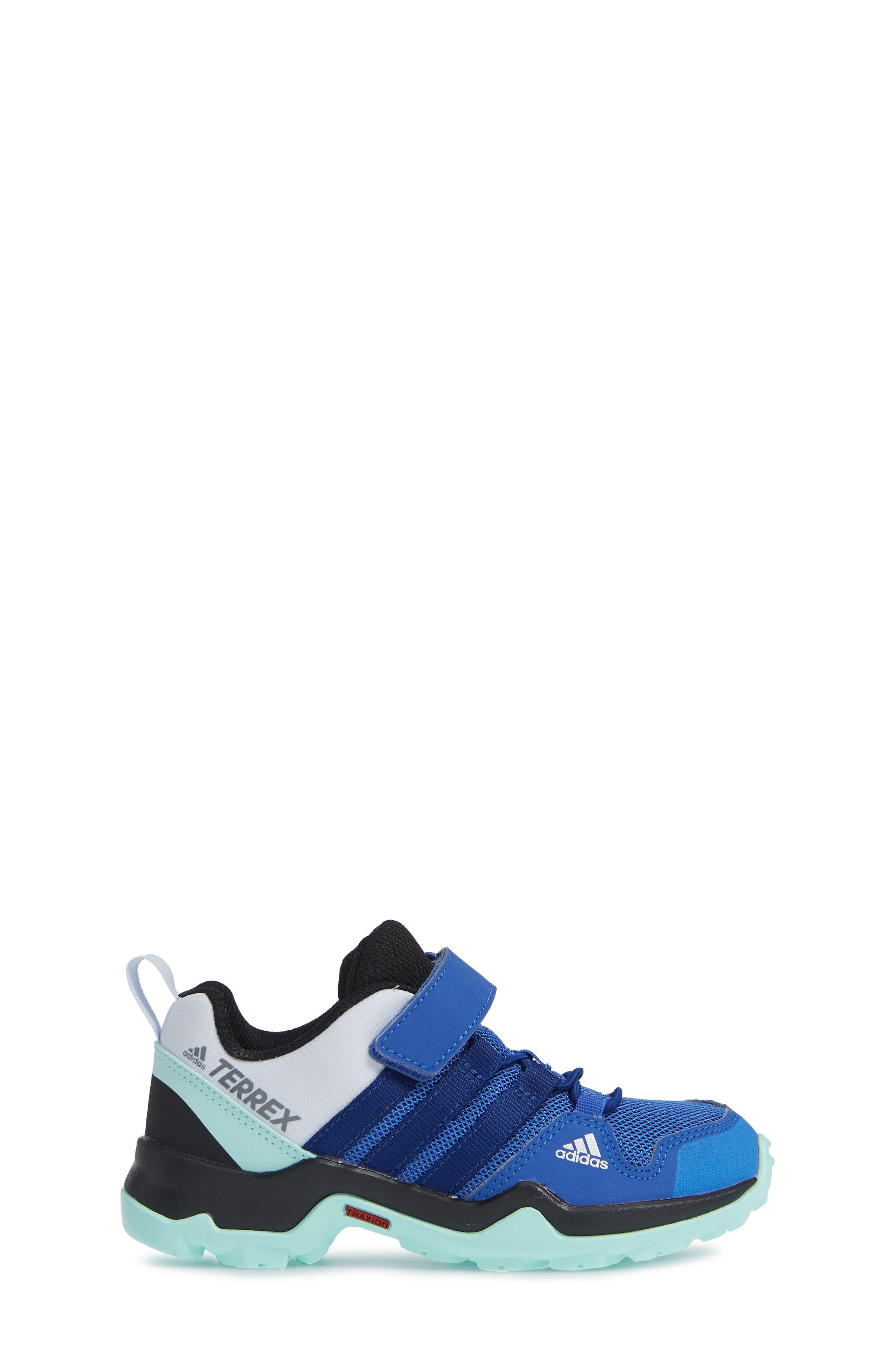 Terrex AX2R Sneaker,                             Alternate thumbnail 3, color,                             HI-RES BLUE/ MYSTERY INK/ MINT