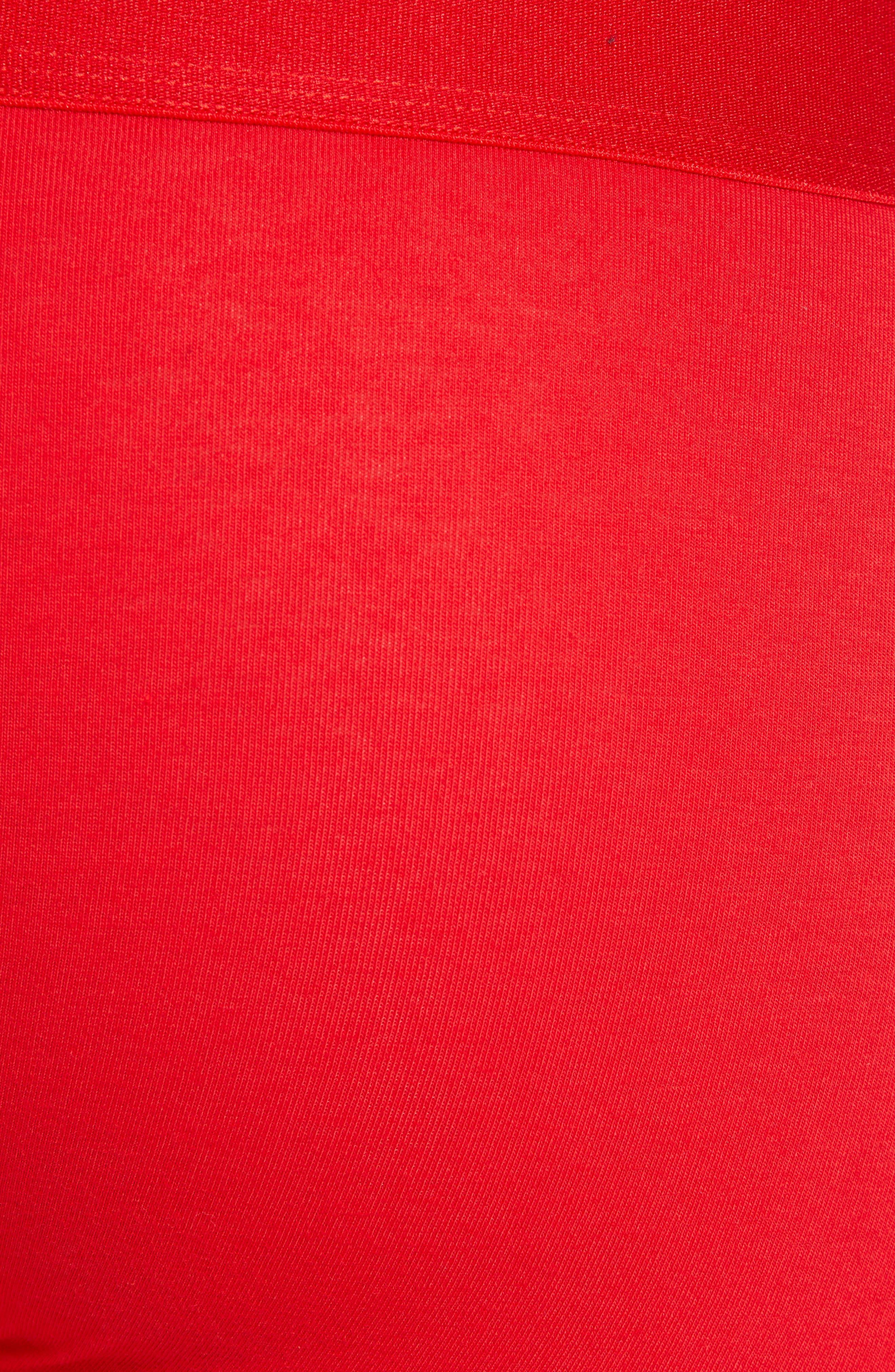Backward Logo Trunks,                             Alternate thumbnail 5, color,                             RED