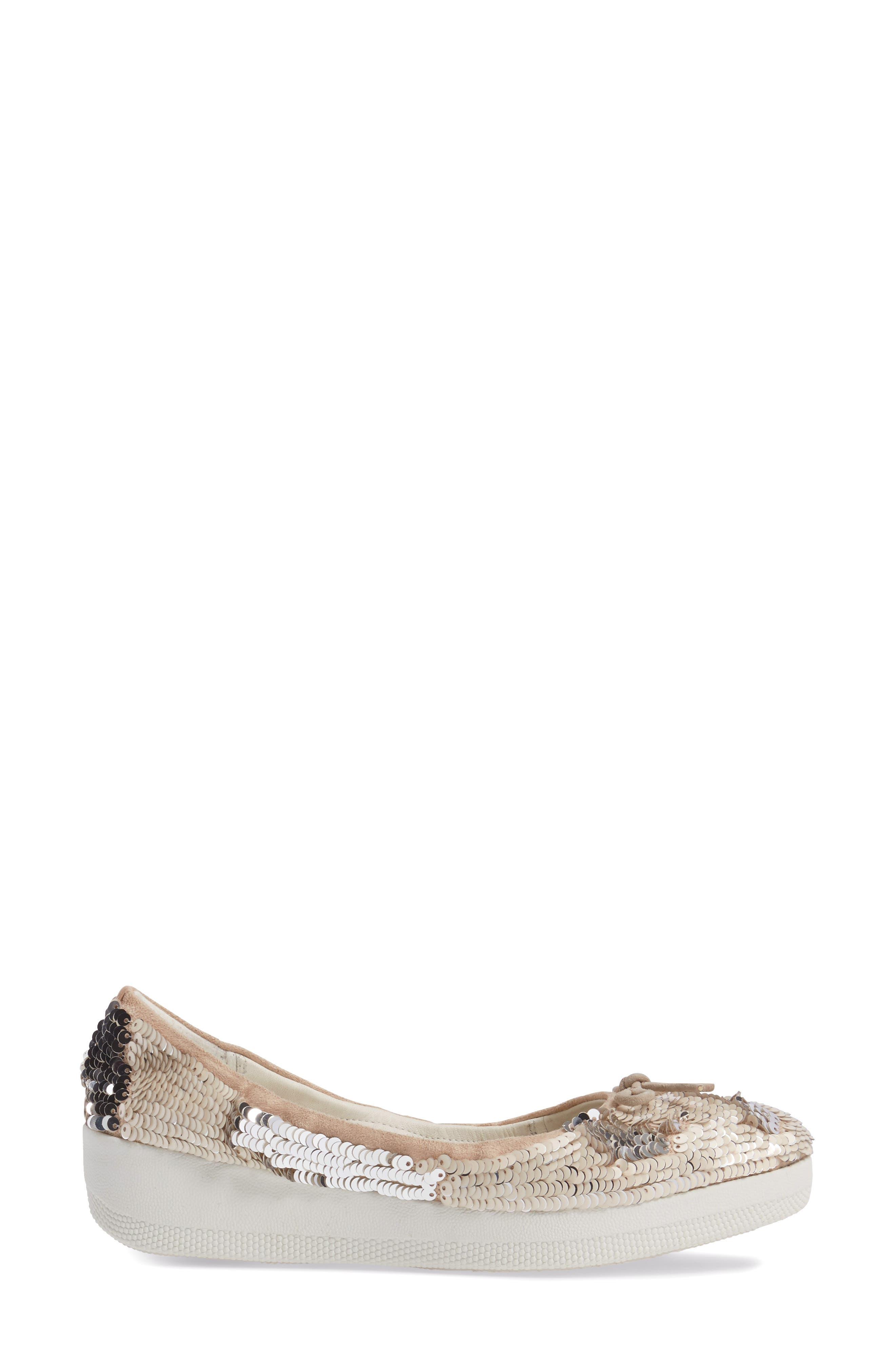 Superballerina Sequin Ballet Flat,                             Alternate thumbnail 6, color,