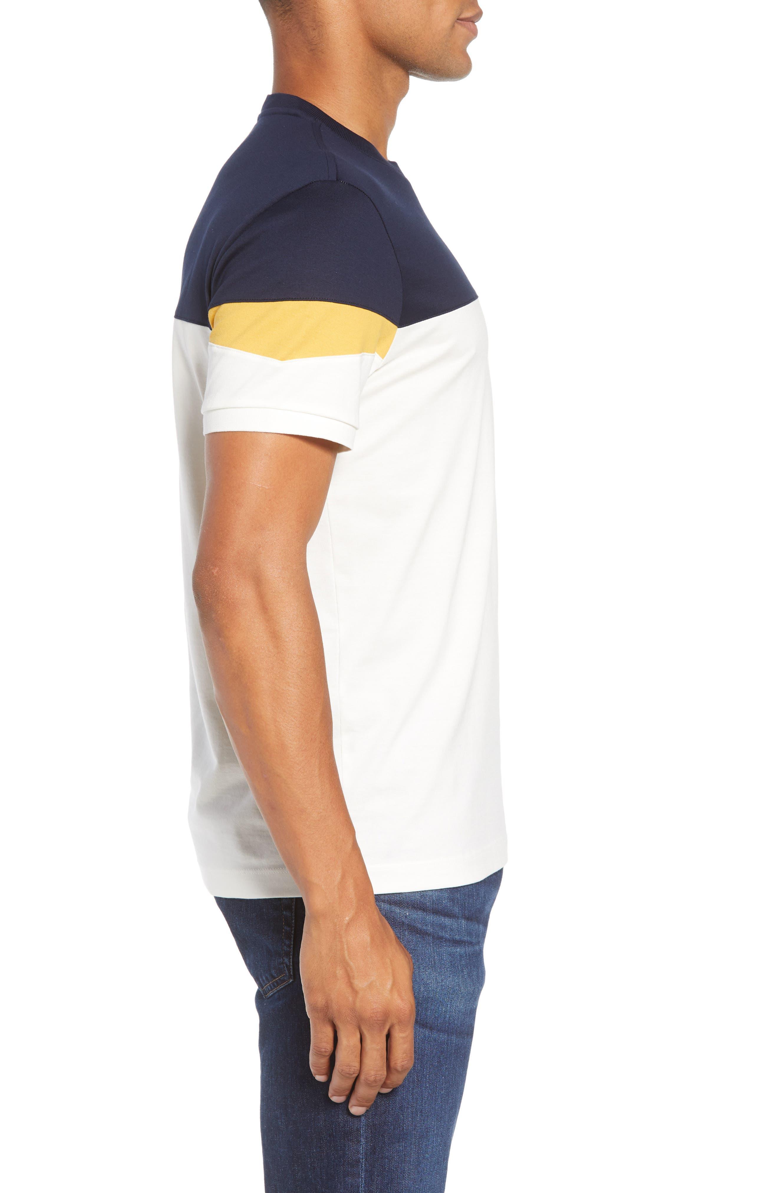 Colorblock T-Shirt,                             Alternate thumbnail 3, color,                             262