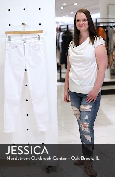 Split Hem High Waist Ankle Skinny Jeans, sales video thumbnail