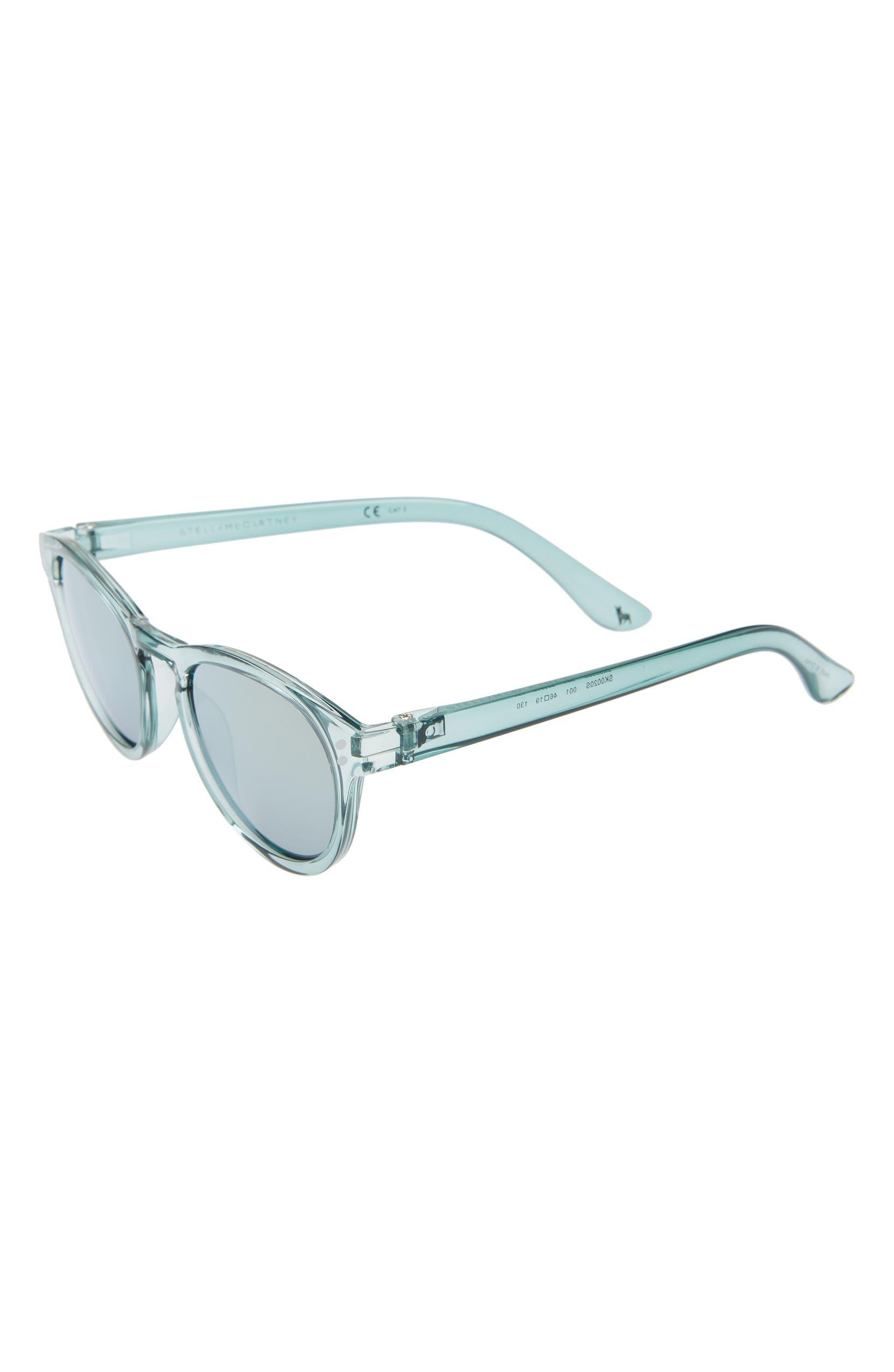 a1be0e05779 Stella McCartney Kids Round 46mm Sunglasses (Kids)