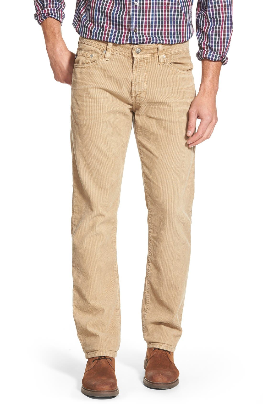 'Graduate' Tailored Straight Leg Corduroy Pants,                             Main thumbnail 9, color,