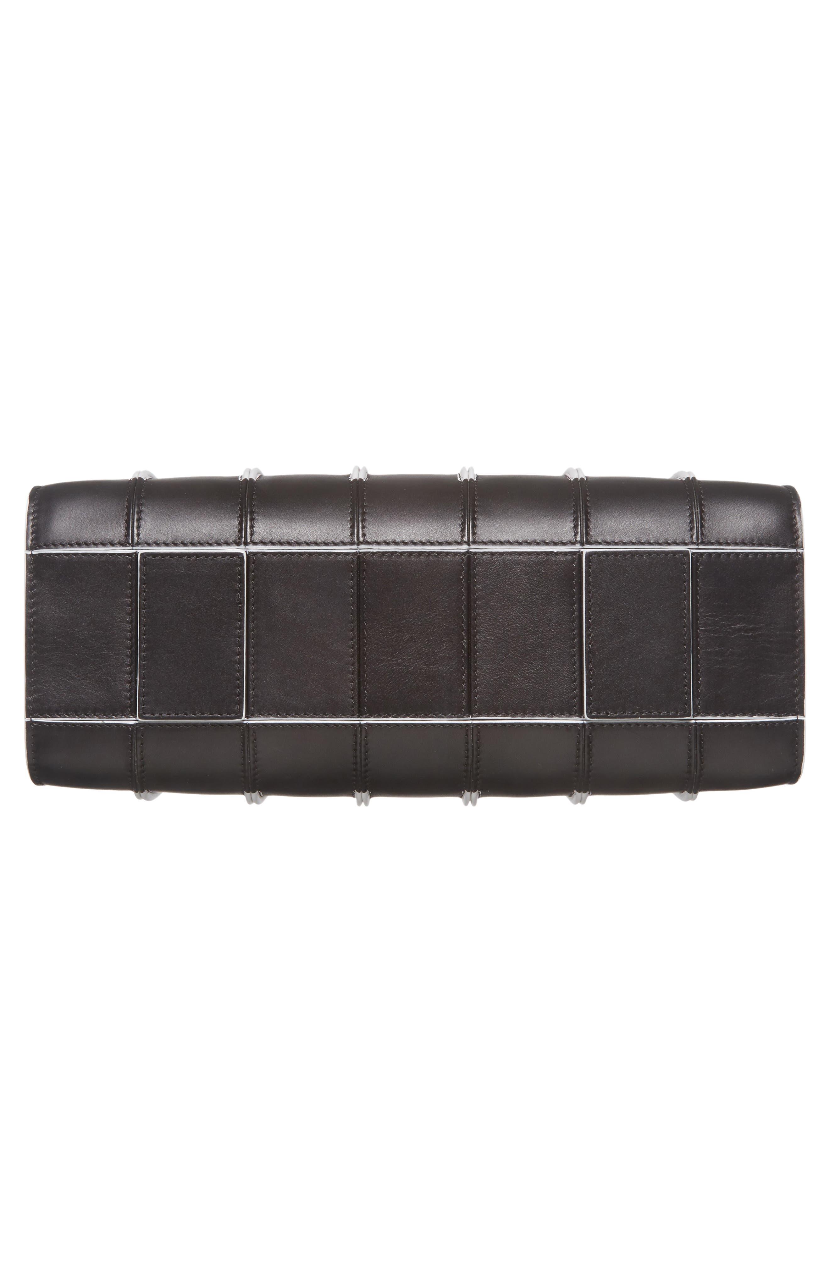 Medium Whitney Leather Tote,                             Alternate thumbnail 6, color,                             001