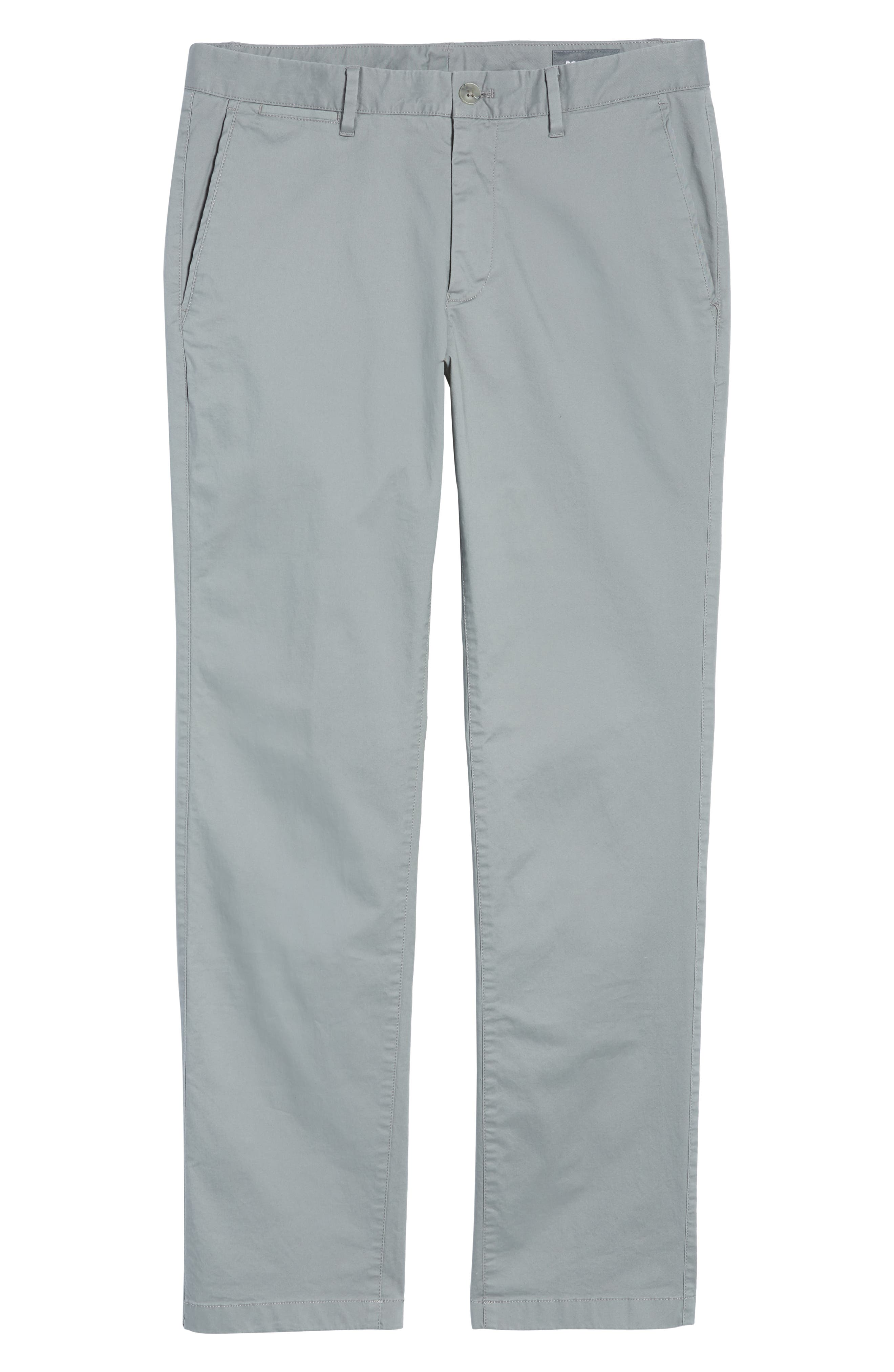 Summer Weight Slim Fit Stretch Chinos,                             Alternate thumbnail 6, color,                             020