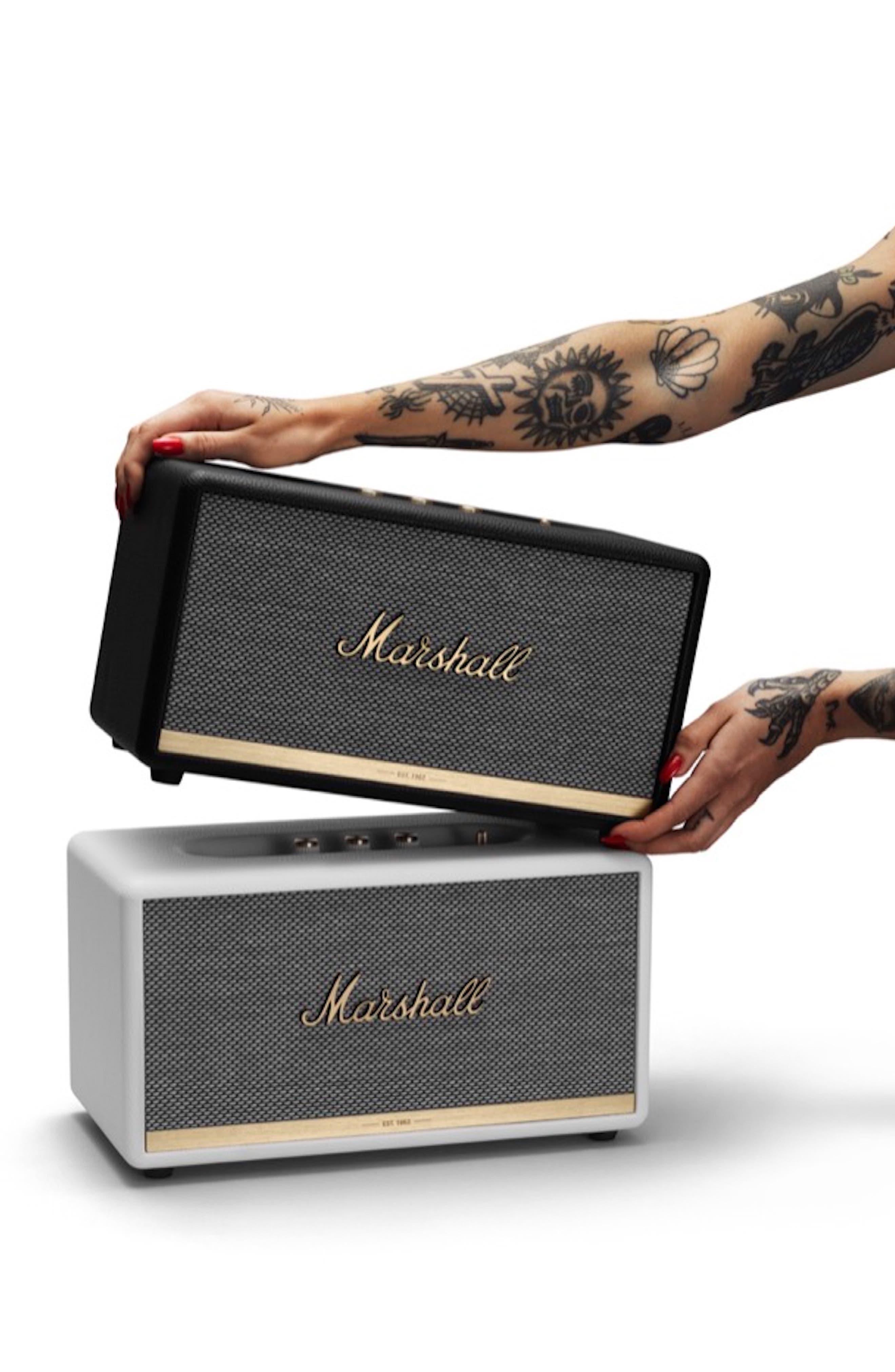 MARSHALL,                             Stanmore II Bluetooth<sup>®</sup> Speaker,                             Alternate thumbnail 7, color,                             BLACK