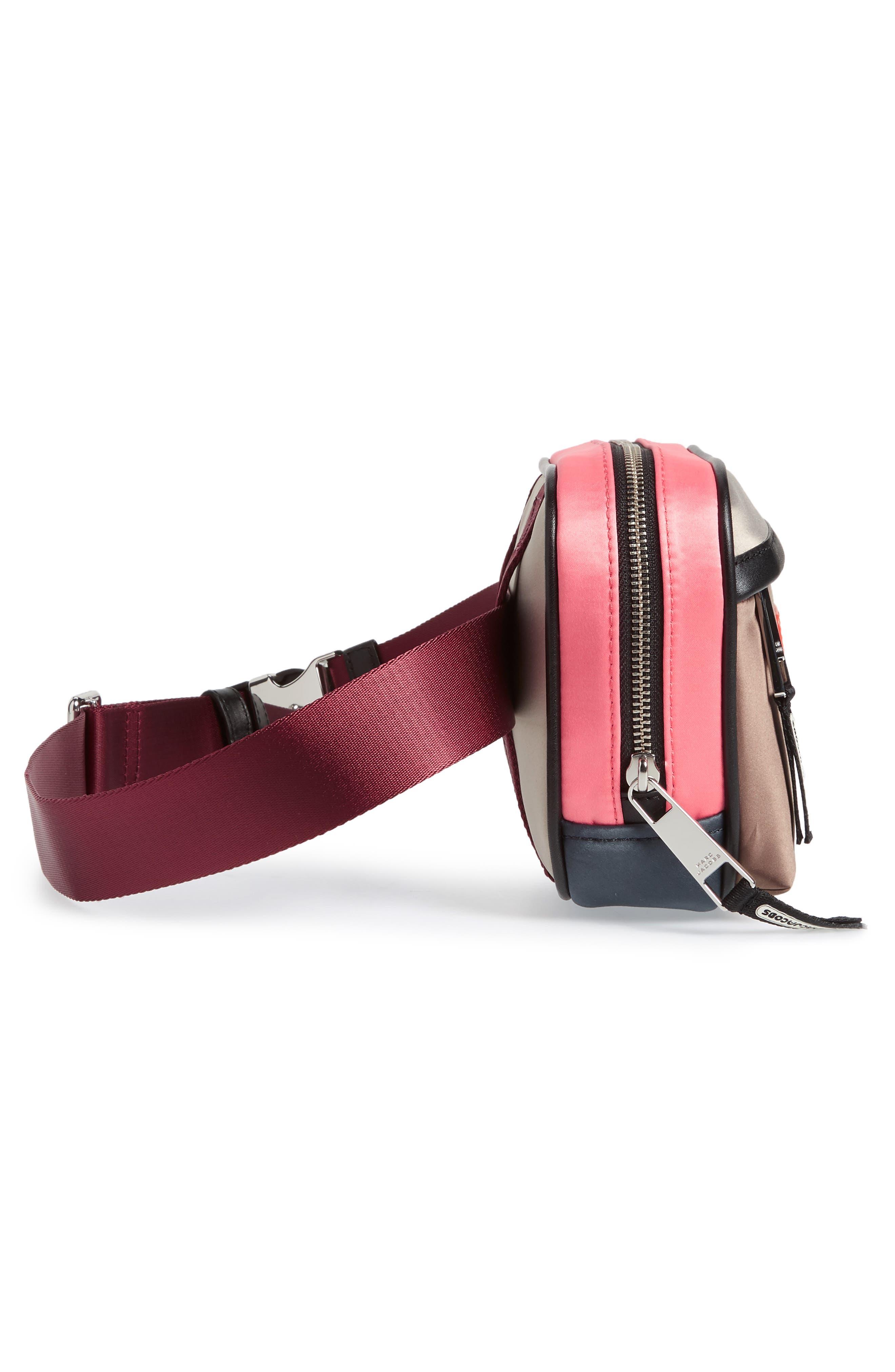 Sport Colorblock Belt Bag,                             Alternate thumbnail 18, color,