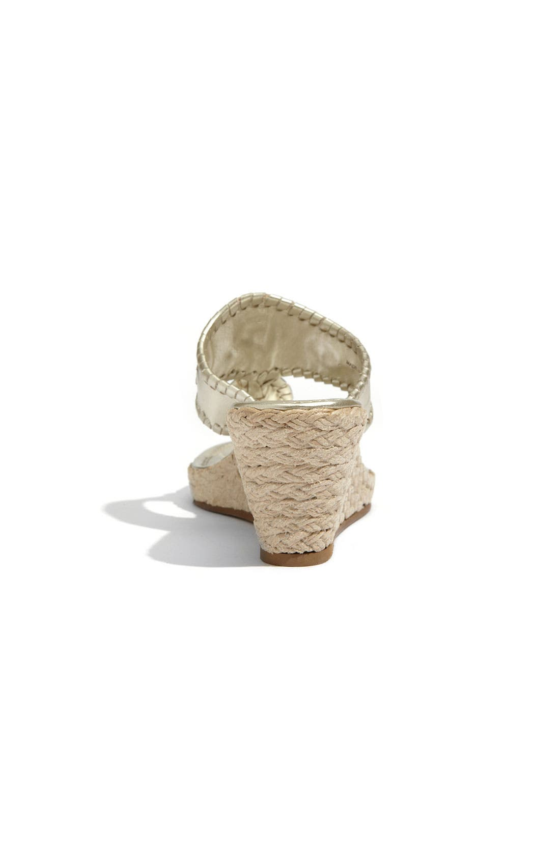 'Marbella' Rope Wedge Sandal,                             Alternate thumbnail 3, color,                             042