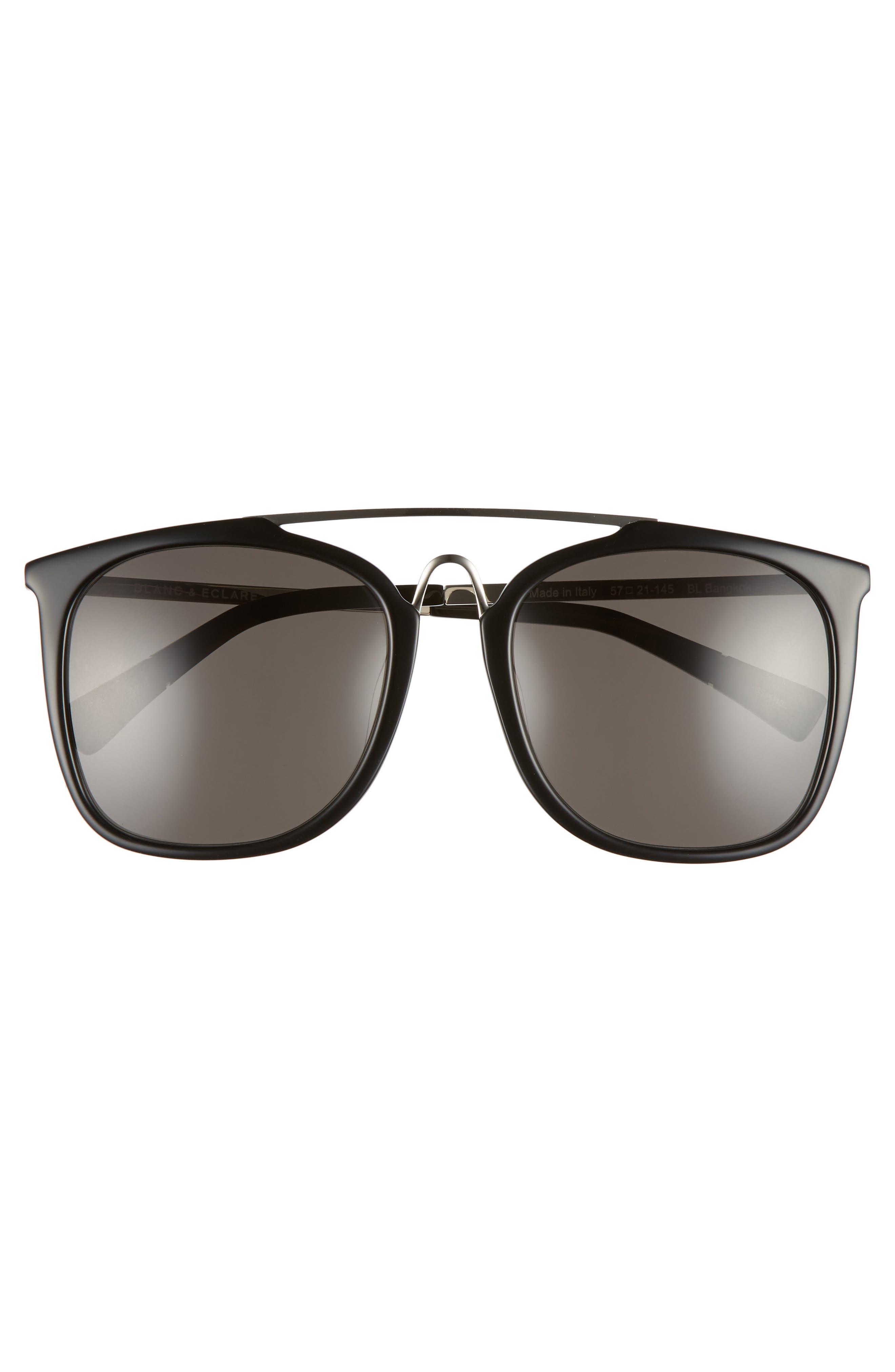 BLANC & ECLARE Bangkok 57mm Polarized Sunglasses,                             Alternate thumbnail 5, color,