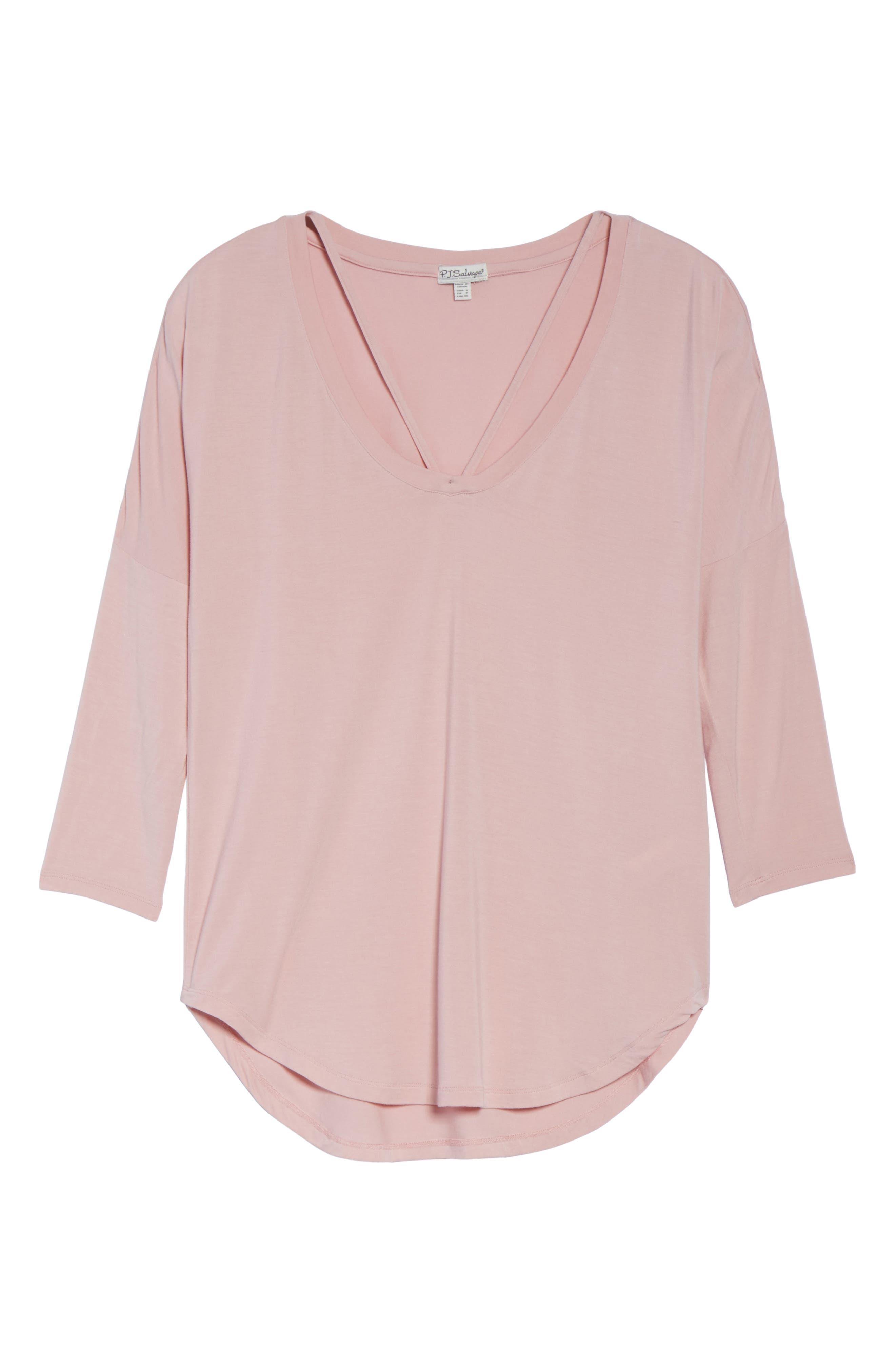 Long Sleeve Top,                             Alternate thumbnail 6, color,                             650