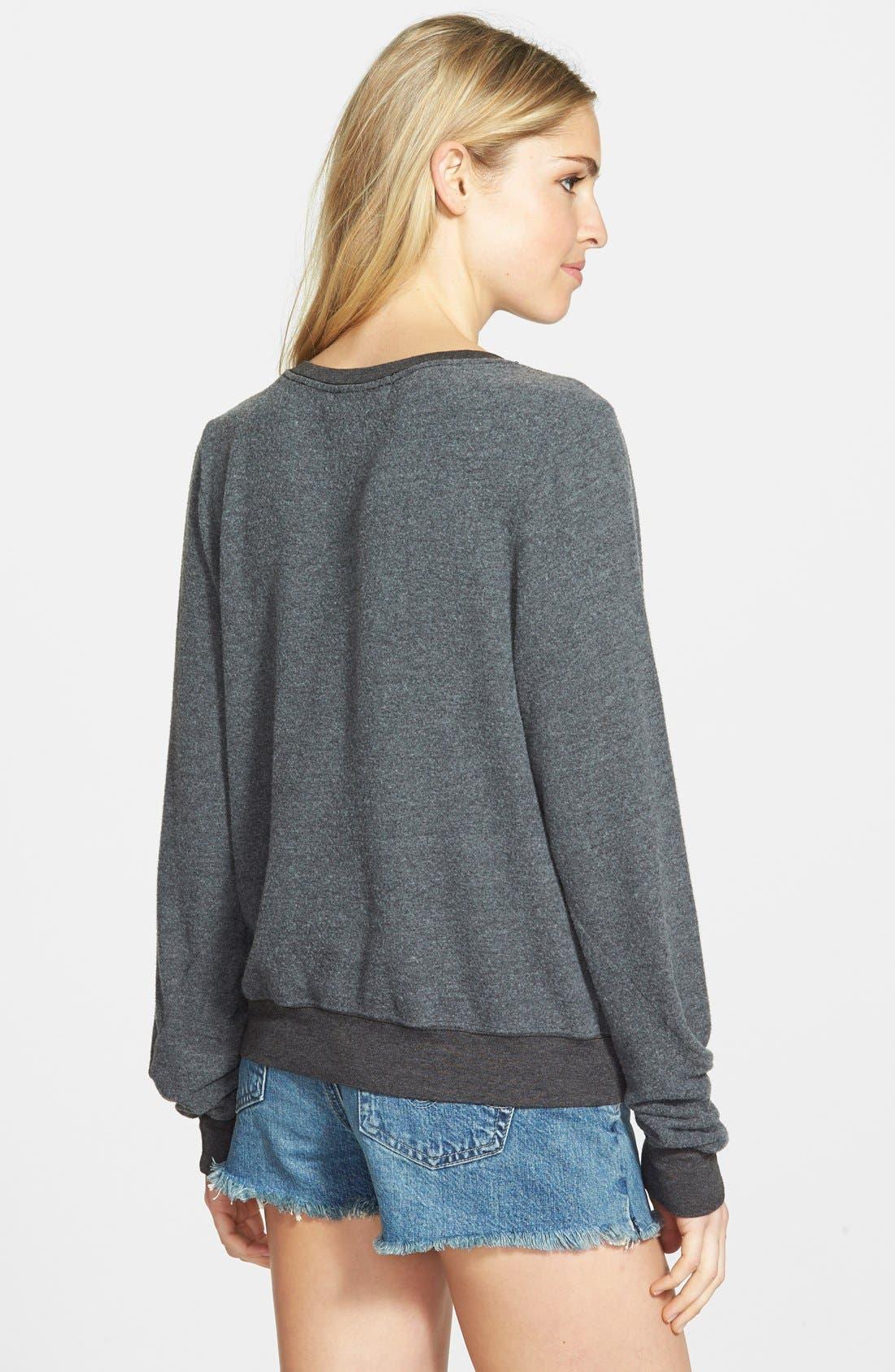 'Sparkle Heart' Sweatshirt,                             Alternate thumbnail 2, color,                             004