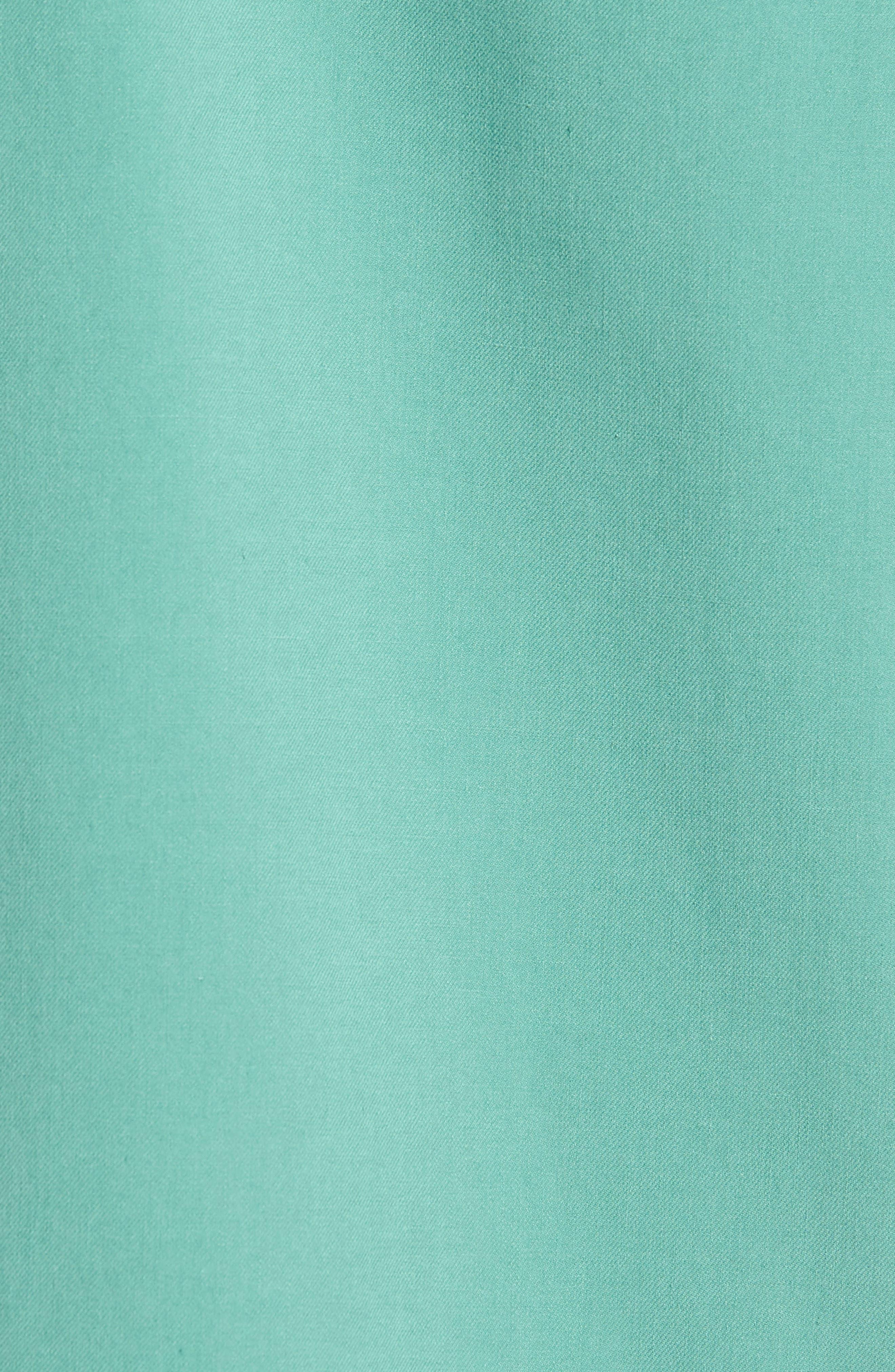 'Catalina Twill' Original Fit Silk Camp Shirt,                             Alternate thumbnail 5, color,                             306