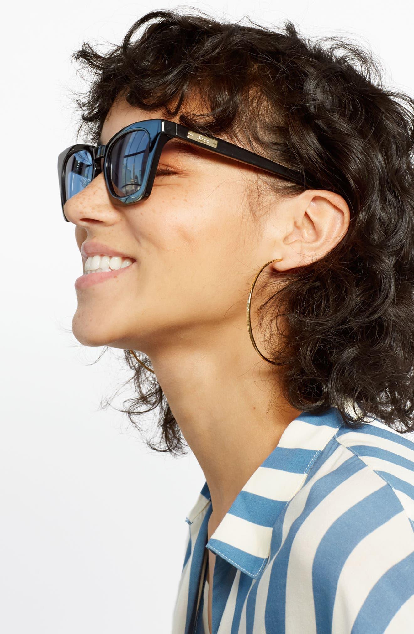 Ginza 50mm Cat Eye Sunglasses,                             Alternate thumbnail 16, color,
