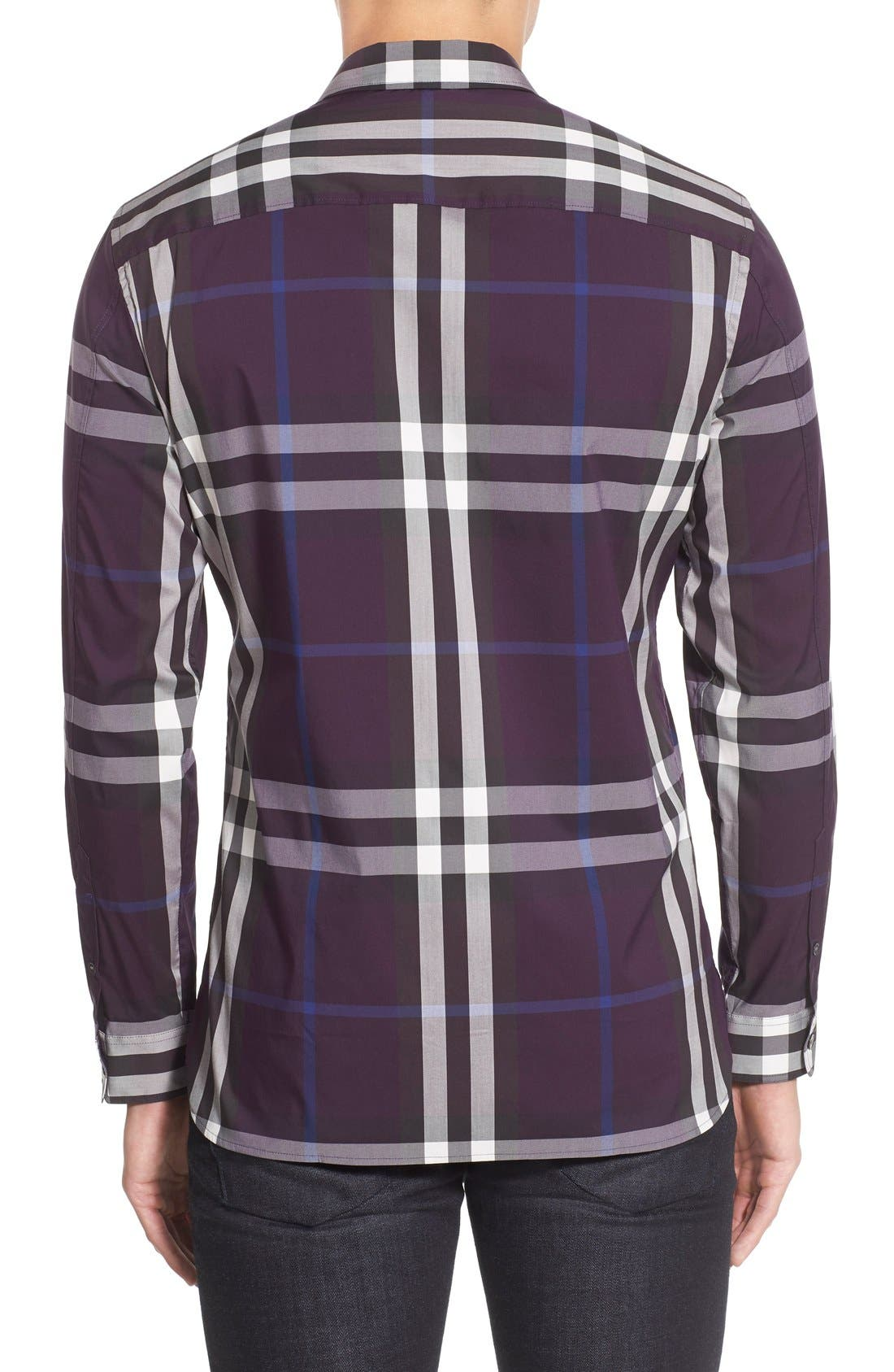 Nelson Check Sport Shirt,                             Alternate thumbnail 47, color,