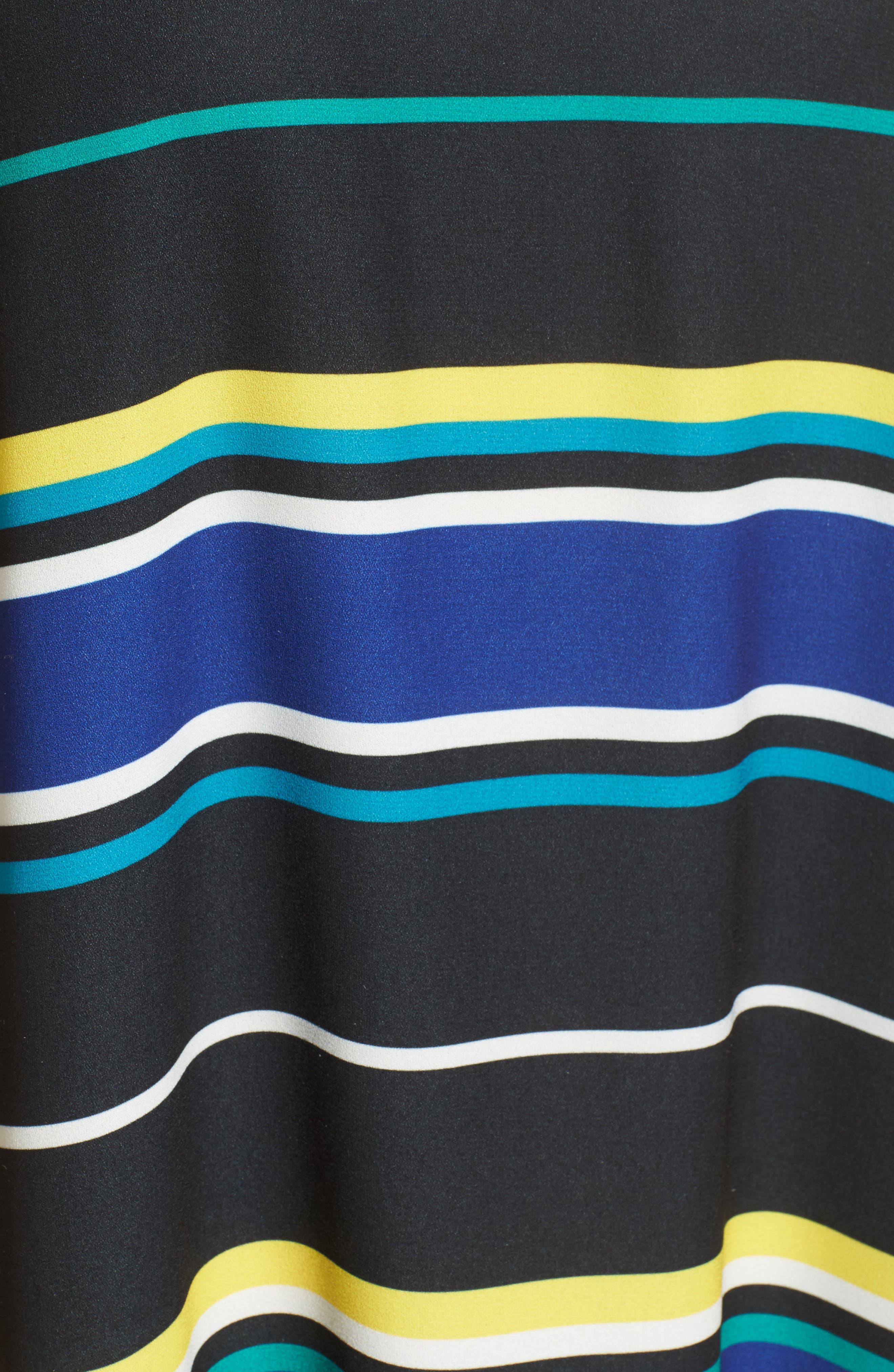 A-Line Dress,                             Alternate thumbnail 6, color,                             005