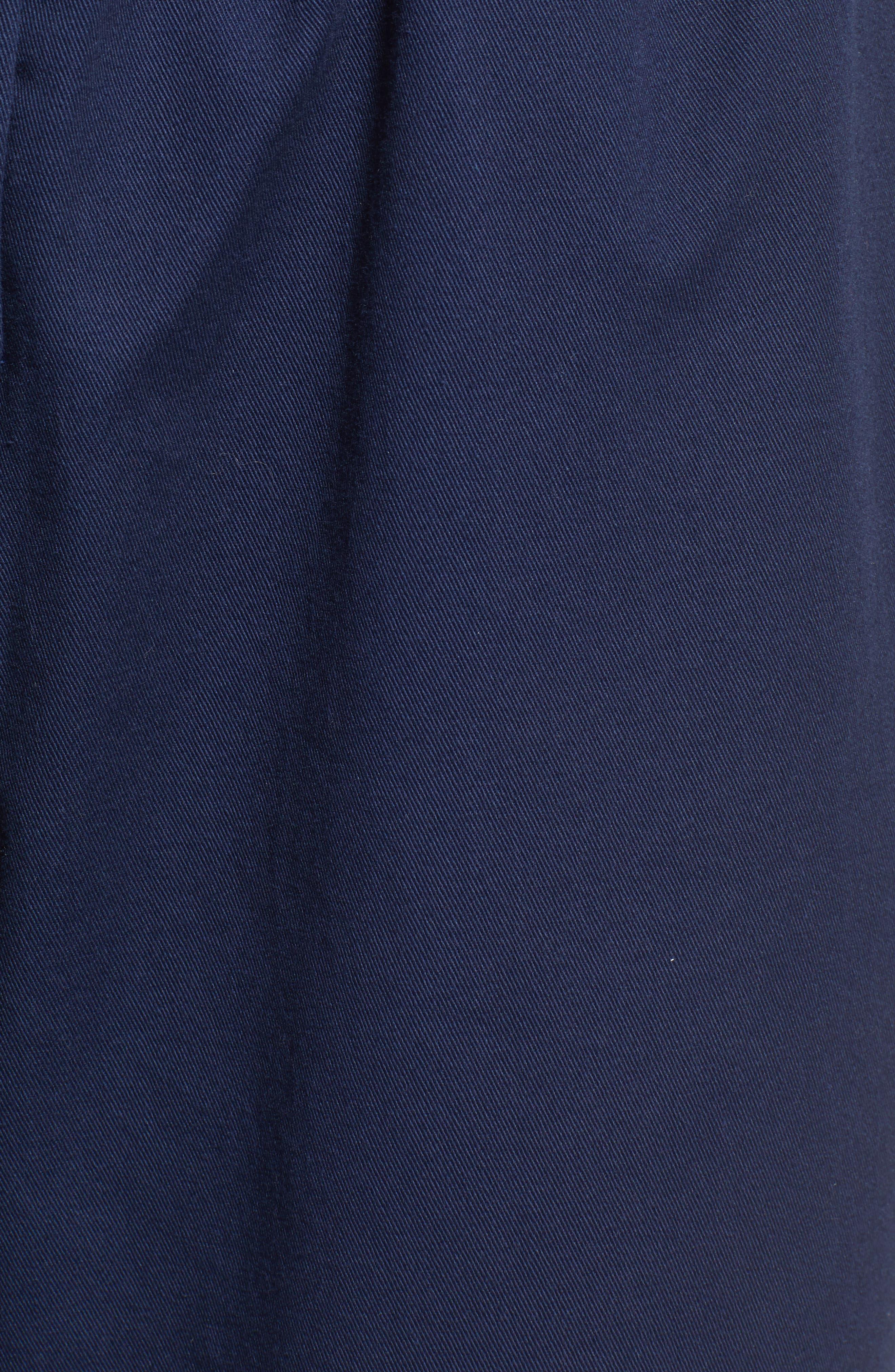 TEN SIXTY SHERMAN,                             Twill Workwear Jumpsuit,                             Alternate thumbnail 6, color,                             OXFORD BLUE