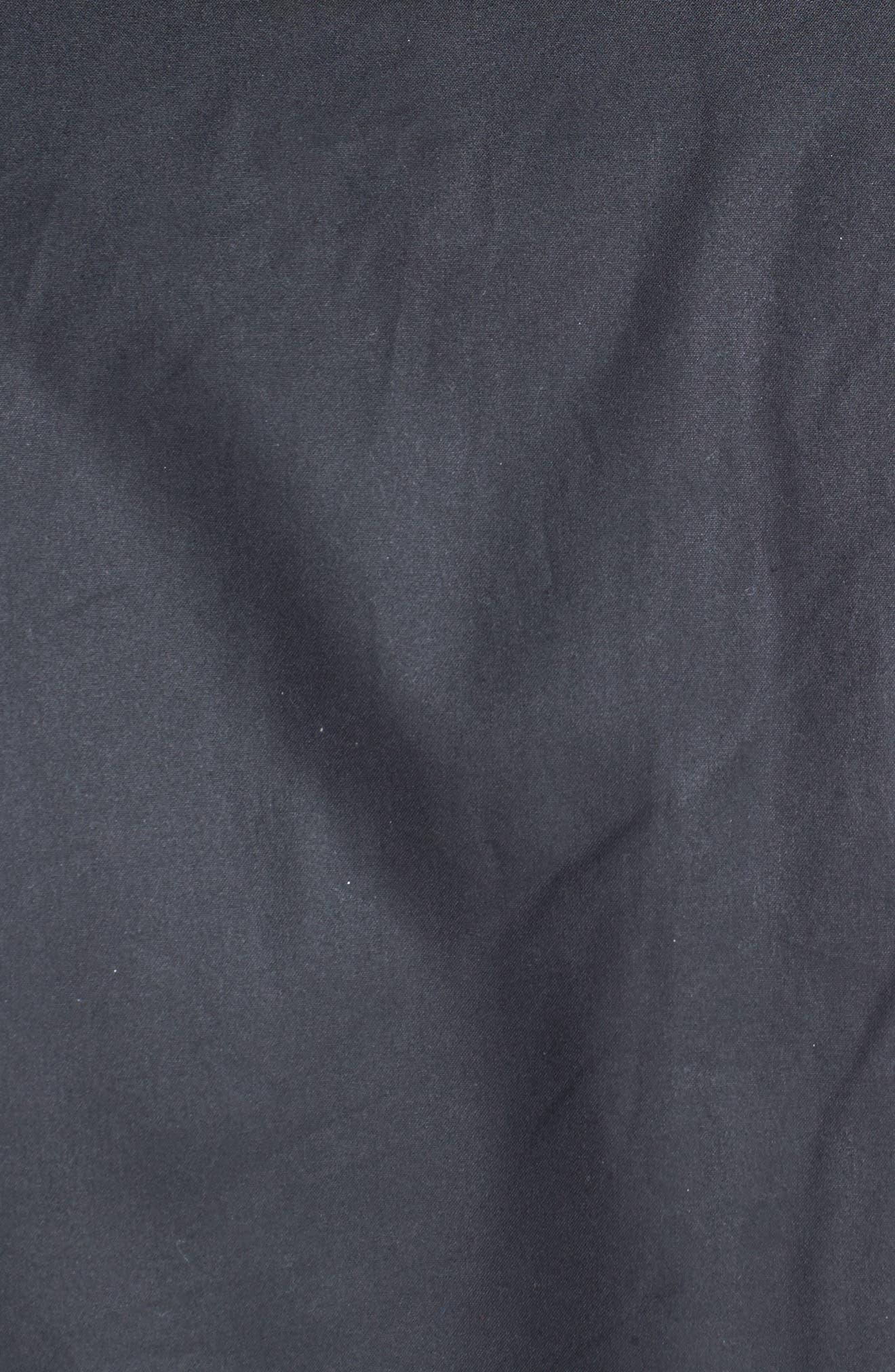 'Sapper' Regular Fit Waterproof Waxed Cotton Jacket,                             Alternate thumbnail 4, color,                             BLACK