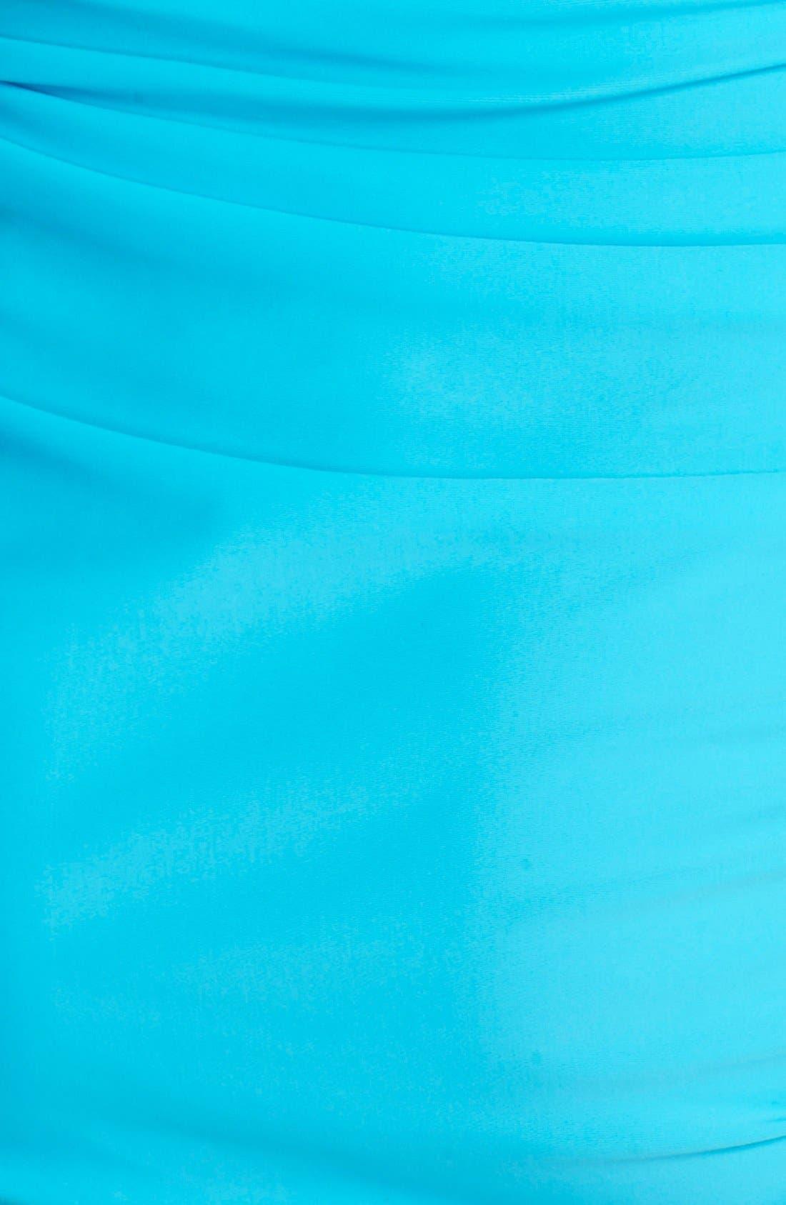 'Sonja' Long Sleeve Half Zip Convertible Swimdress,                             Alternate thumbnail 19, color,