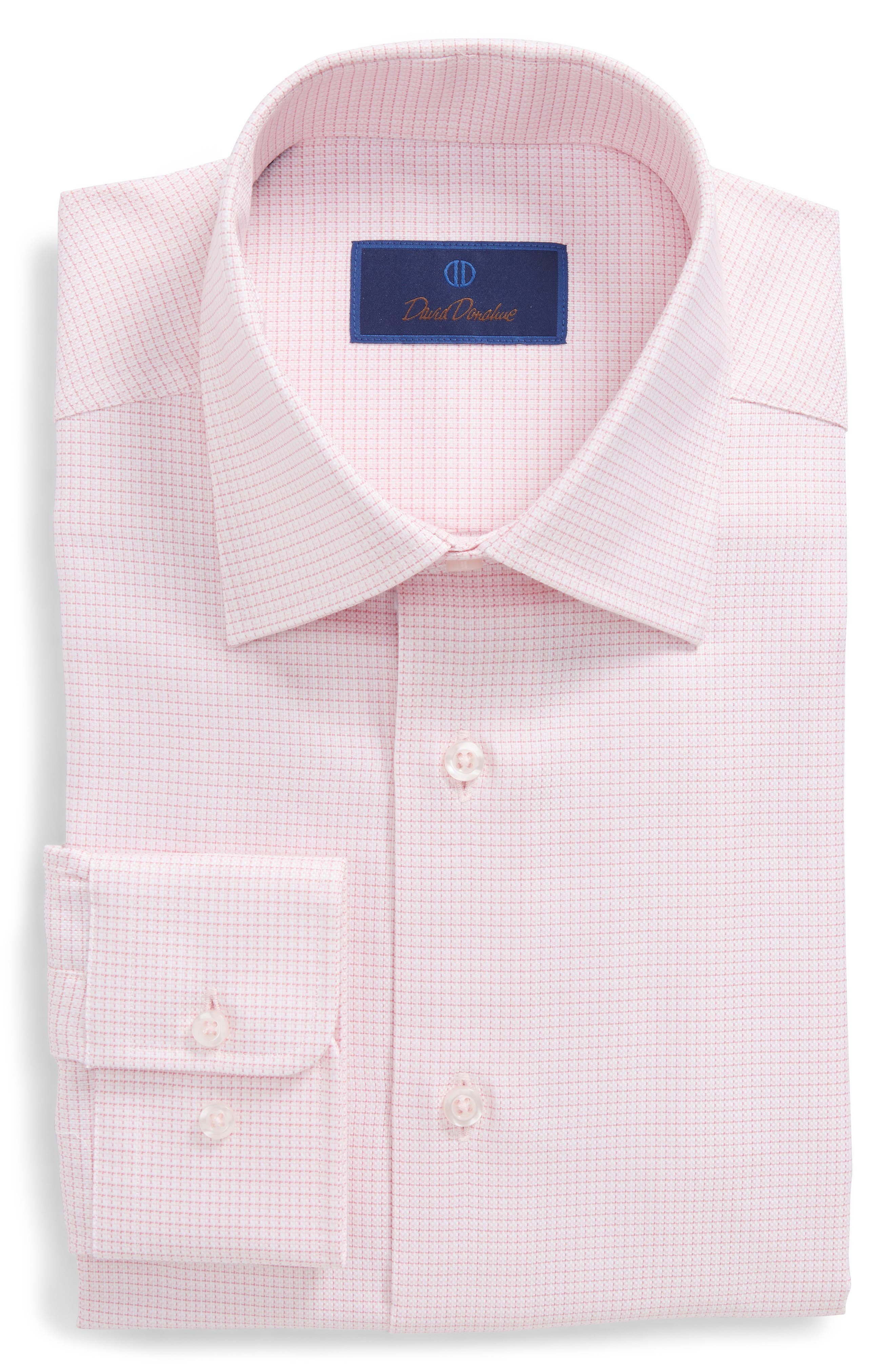 Regular Fit Check Dress Shirt,                             Main thumbnail 1, color,                             650
