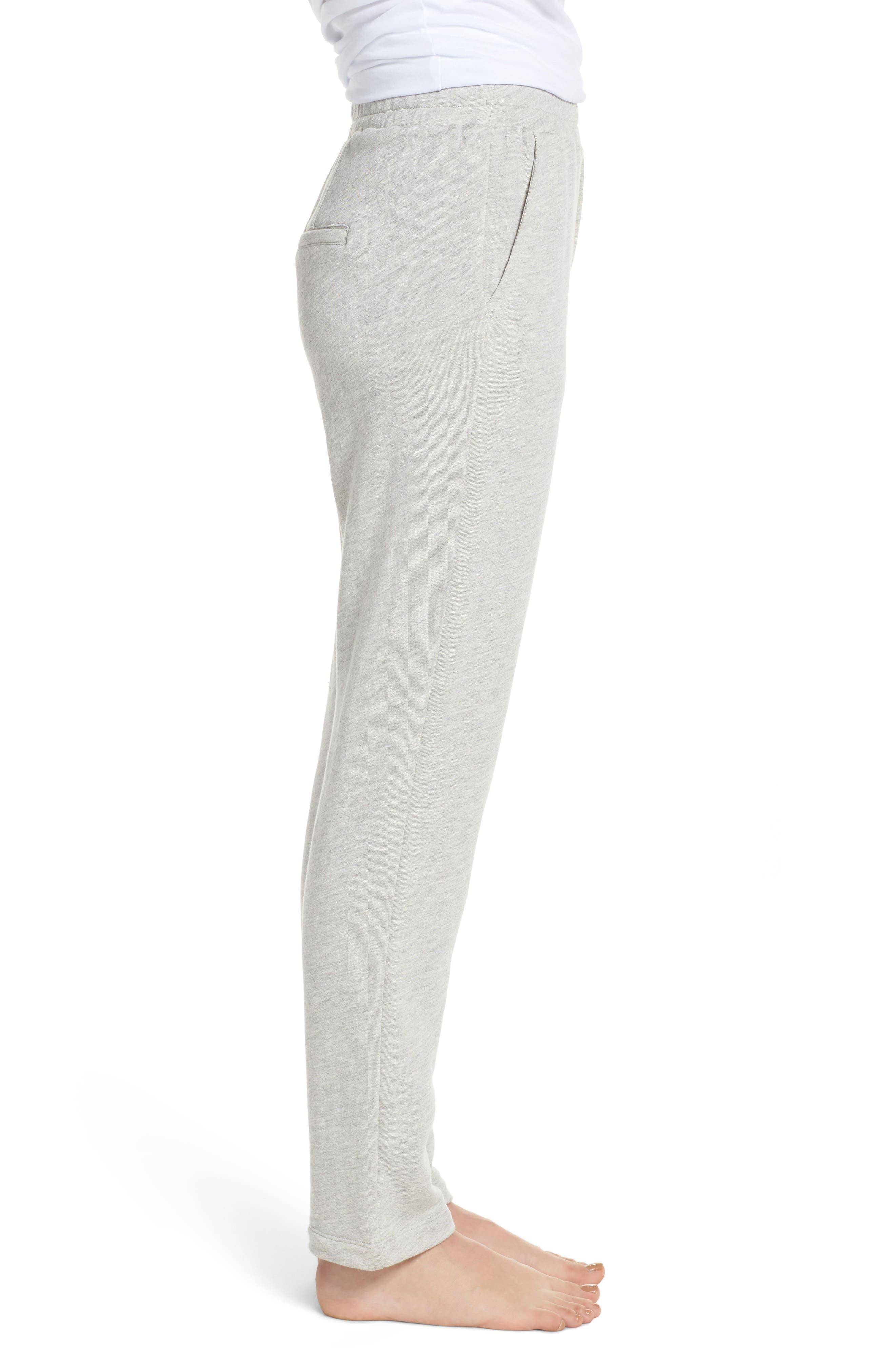 Terry Pajama Pants,                             Alternate thumbnail 3, color,                             028