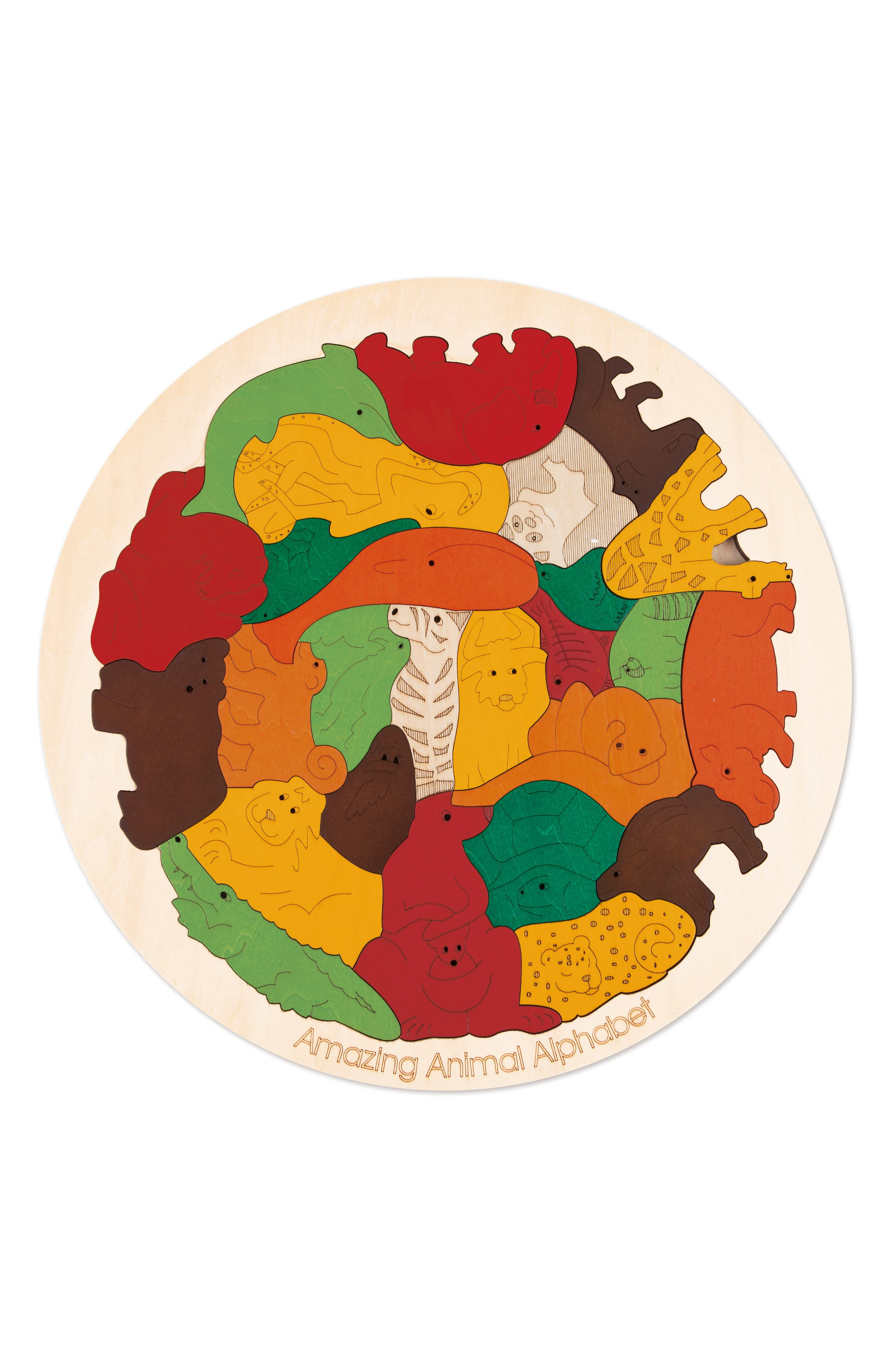 Amazing Animal Alphabet,                         Main,                         color, 600