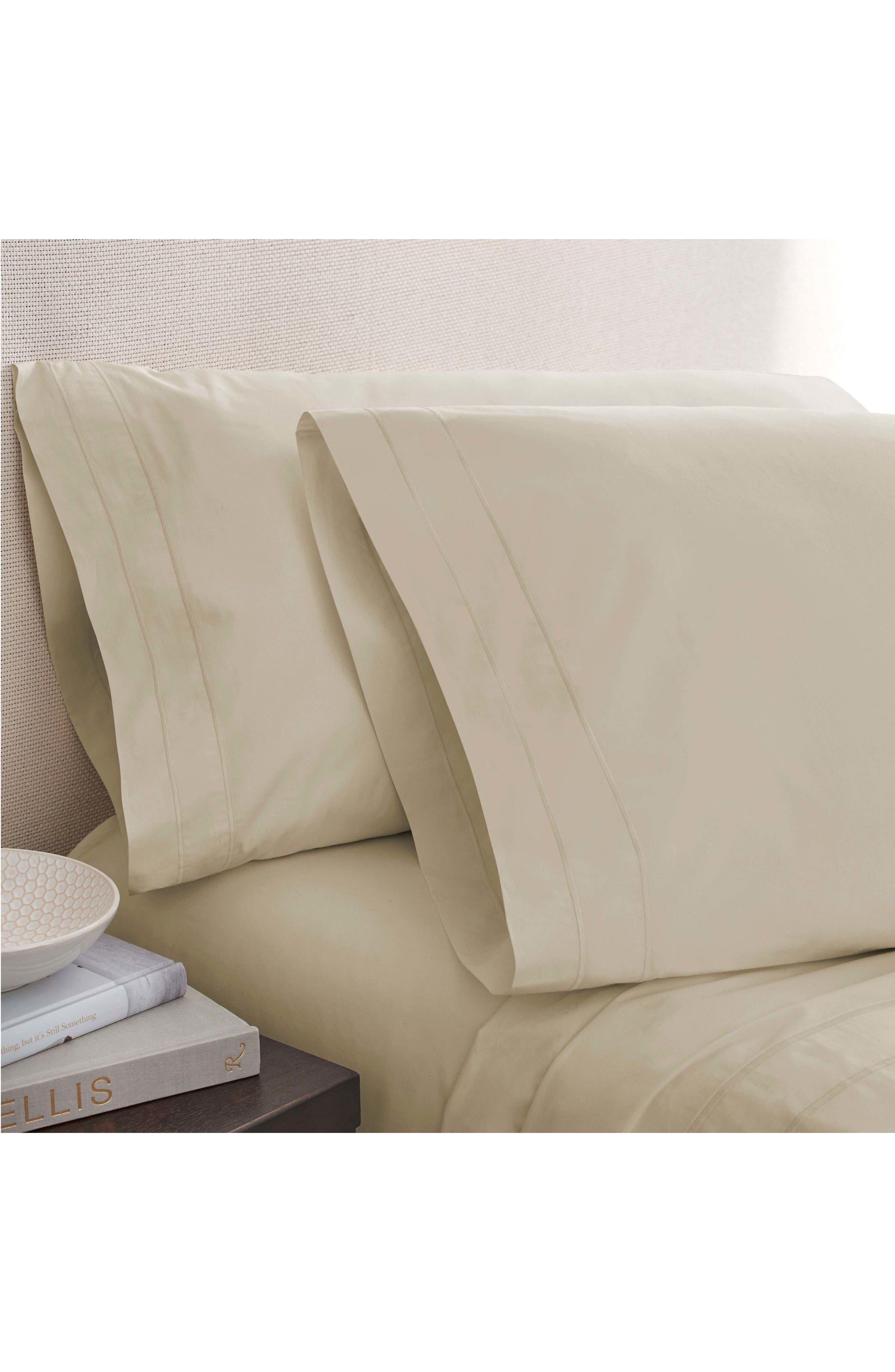 The Denizen Organic Cotton Fitted Sheet,                             Main thumbnail 2, color,