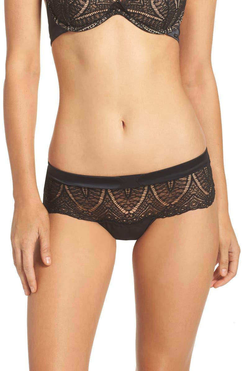 a1f5c33d2d Calvin Klein Black Audacious Lace Thong