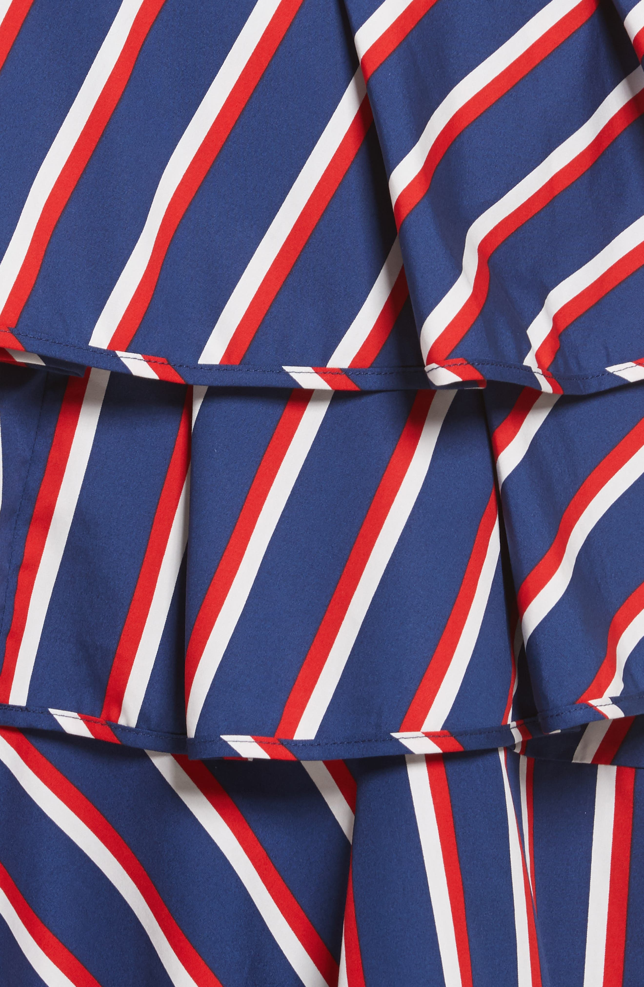 Laflora Aymmetrical Ruffle Midi Dress,                             Alternate thumbnail 5, color,                             475