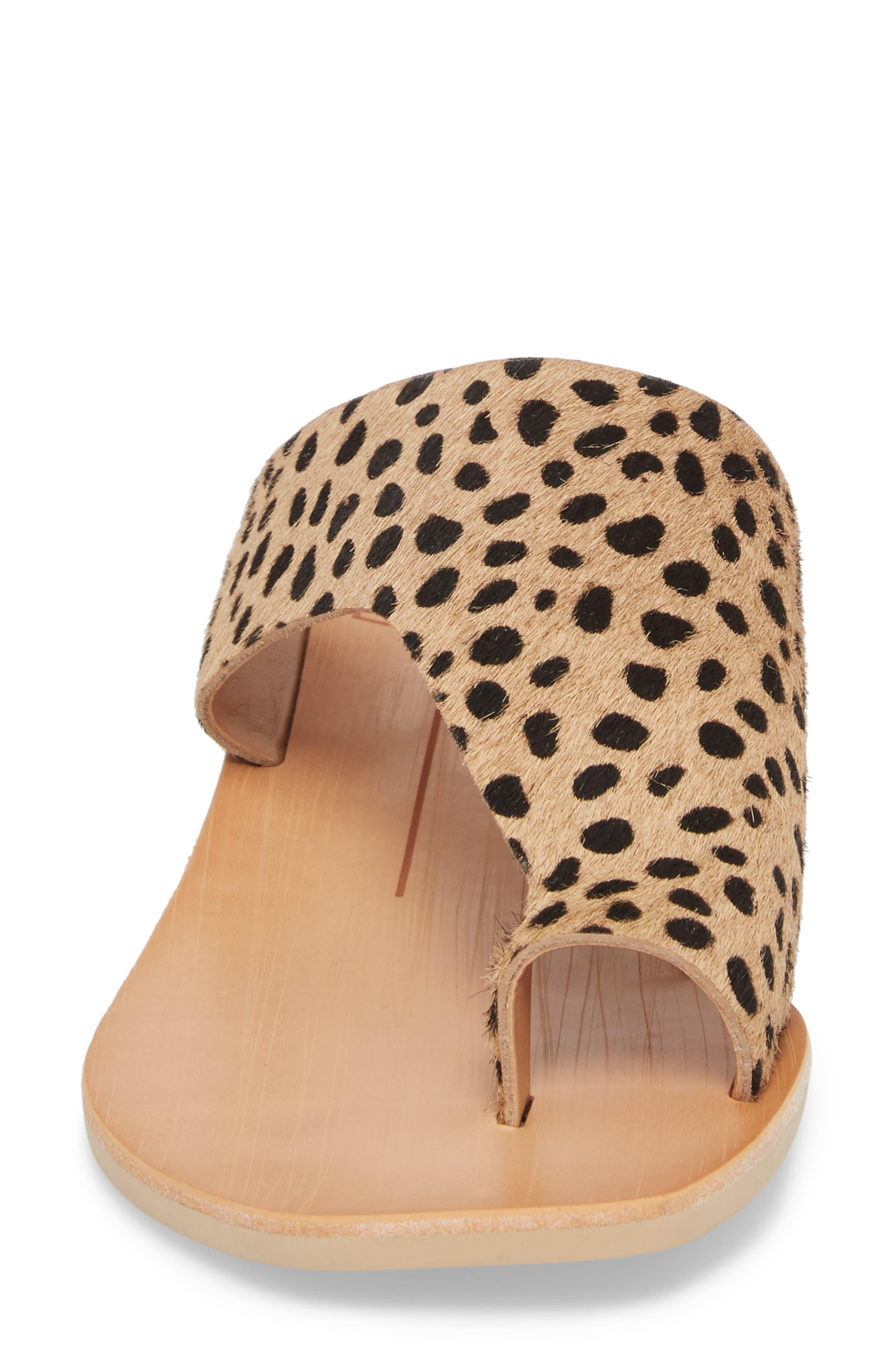 Hazle Genuine Calf Hair Sandal,                             Alternate thumbnail 12, color,