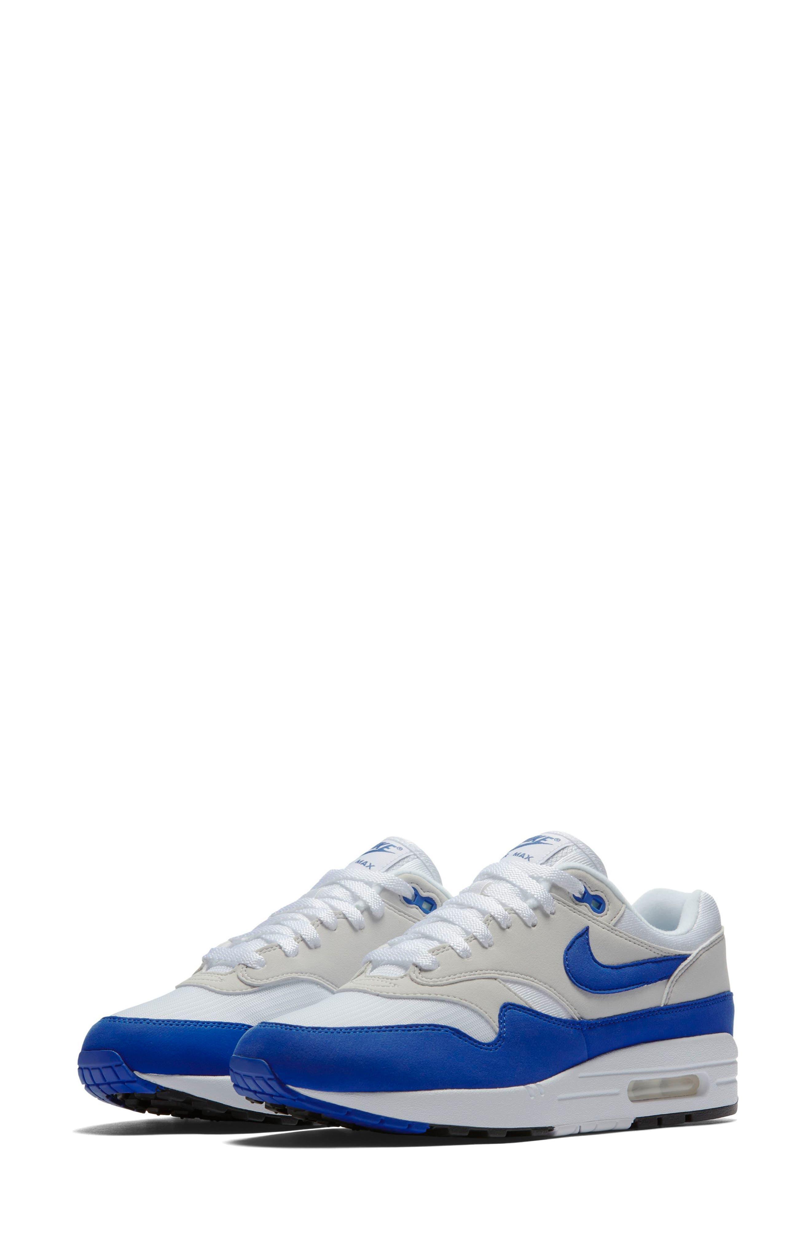 Air Max 1 Anniversary Sneaker,                         Main,                         color, 100