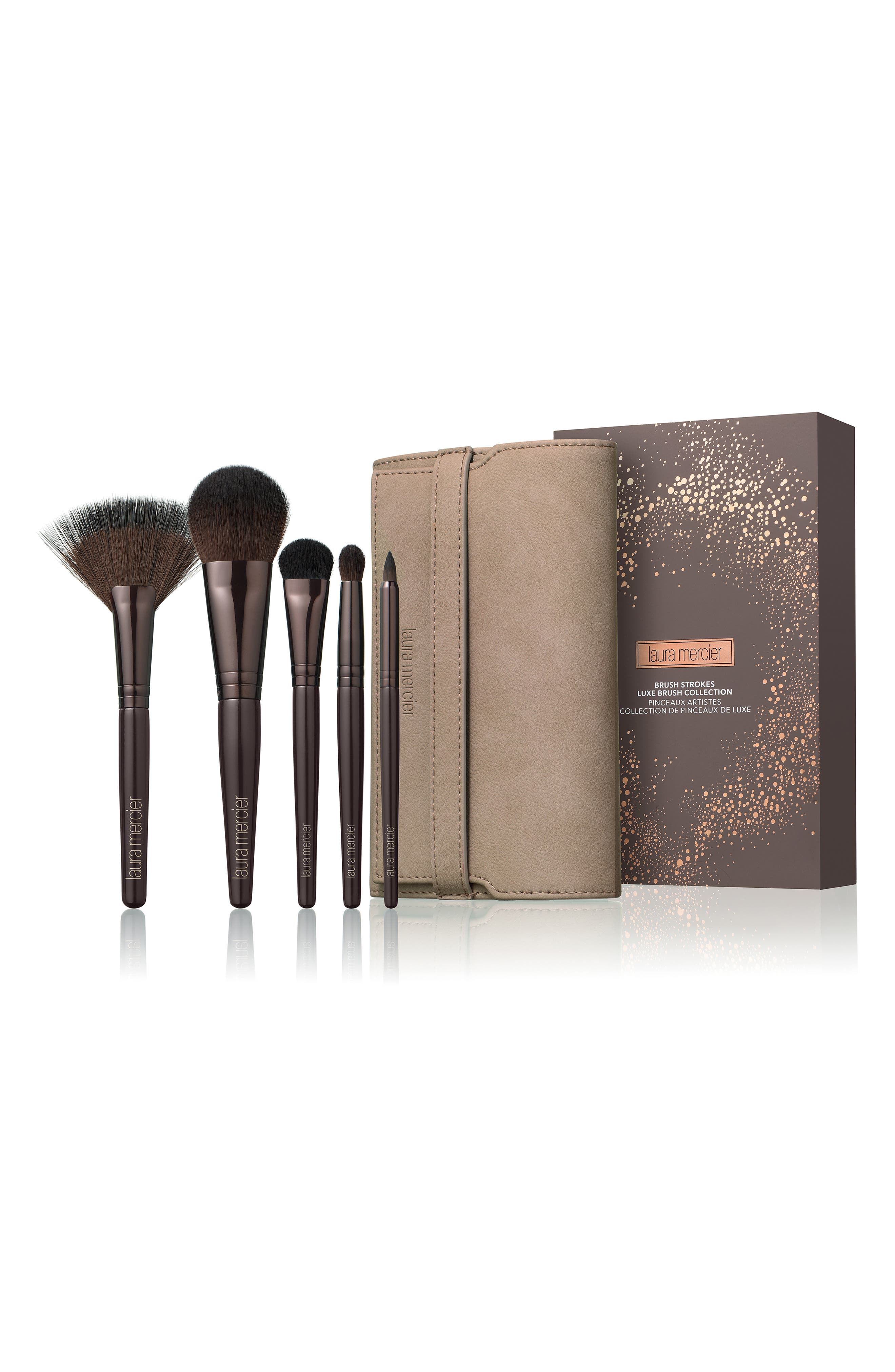 Brush Strokes Luxe Brush Collection,                             Main thumbnail 1, color,                             000