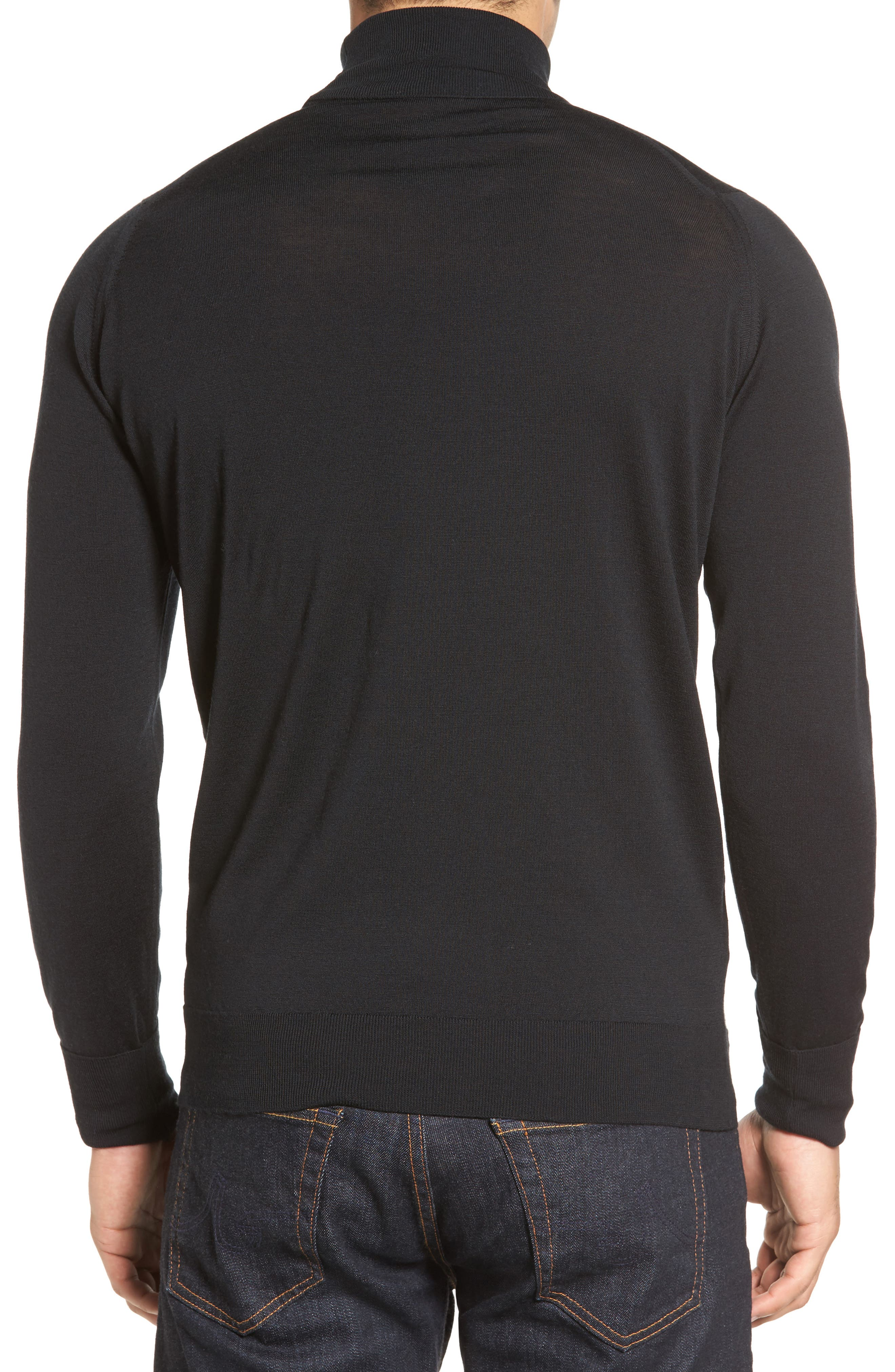 'Richards' Easy Fit Turtleneck Wool Sweater,                             Alternate thumbnail 49, color,