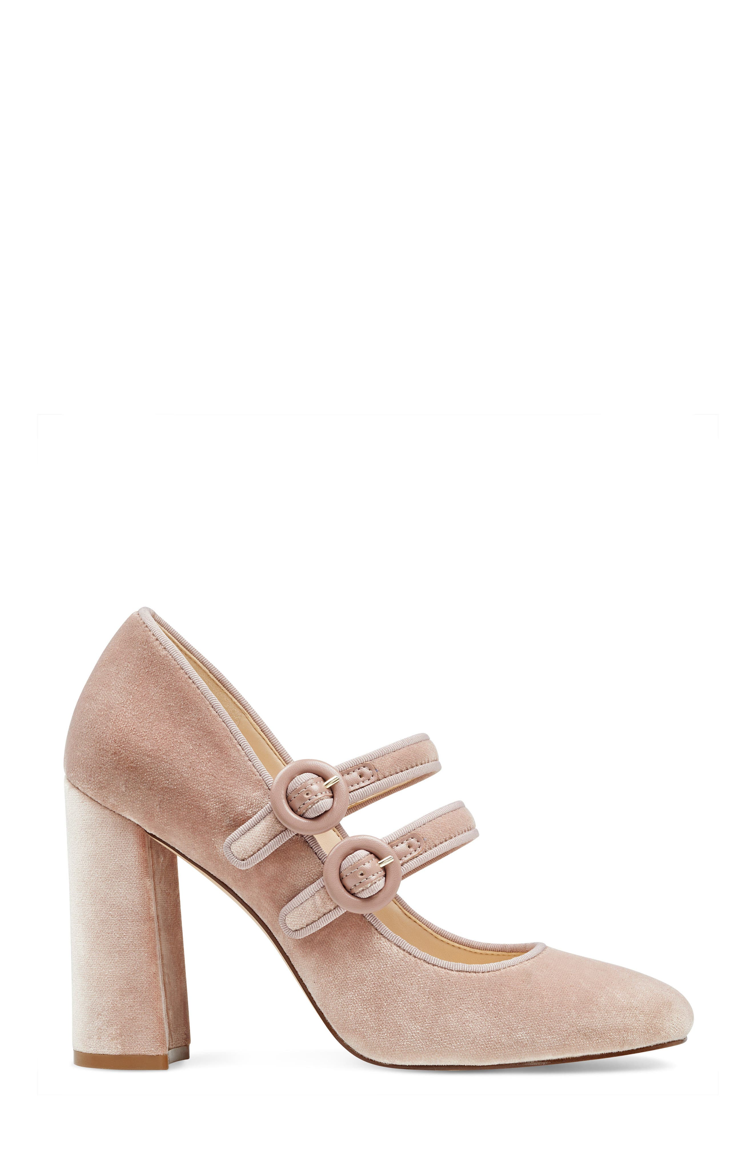 Dabney Double Strap Mary Jane Pump,                             Alternate thumbnail 11, color,