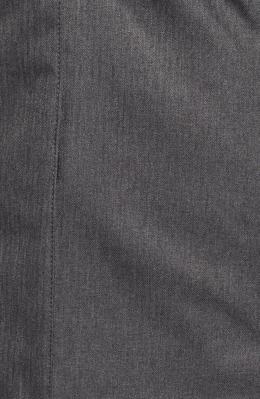 Apres Arson<sup>™</sup> Down Jacket with Faux Fur Trim,                             Alternate thumbnail 3, color,                             010