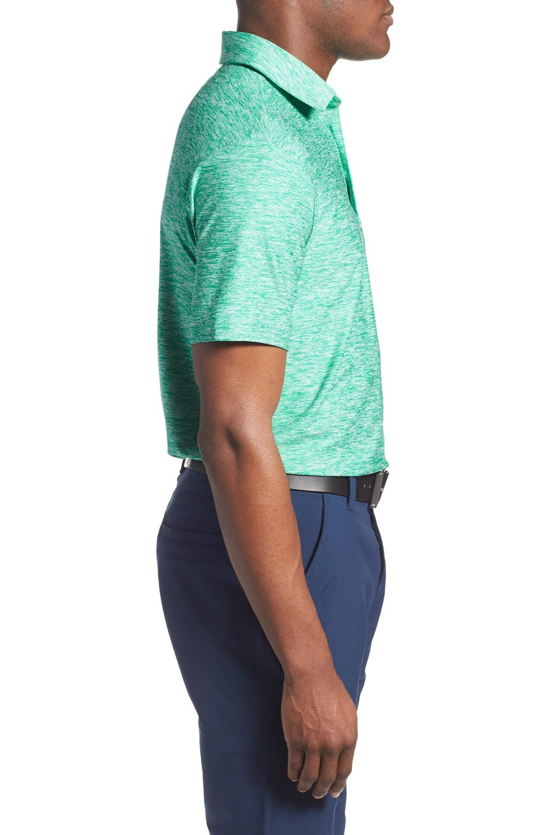 'Playoff' Loose Fit Short Sleeve Polo,                             Alternate thumbnail 196, color,