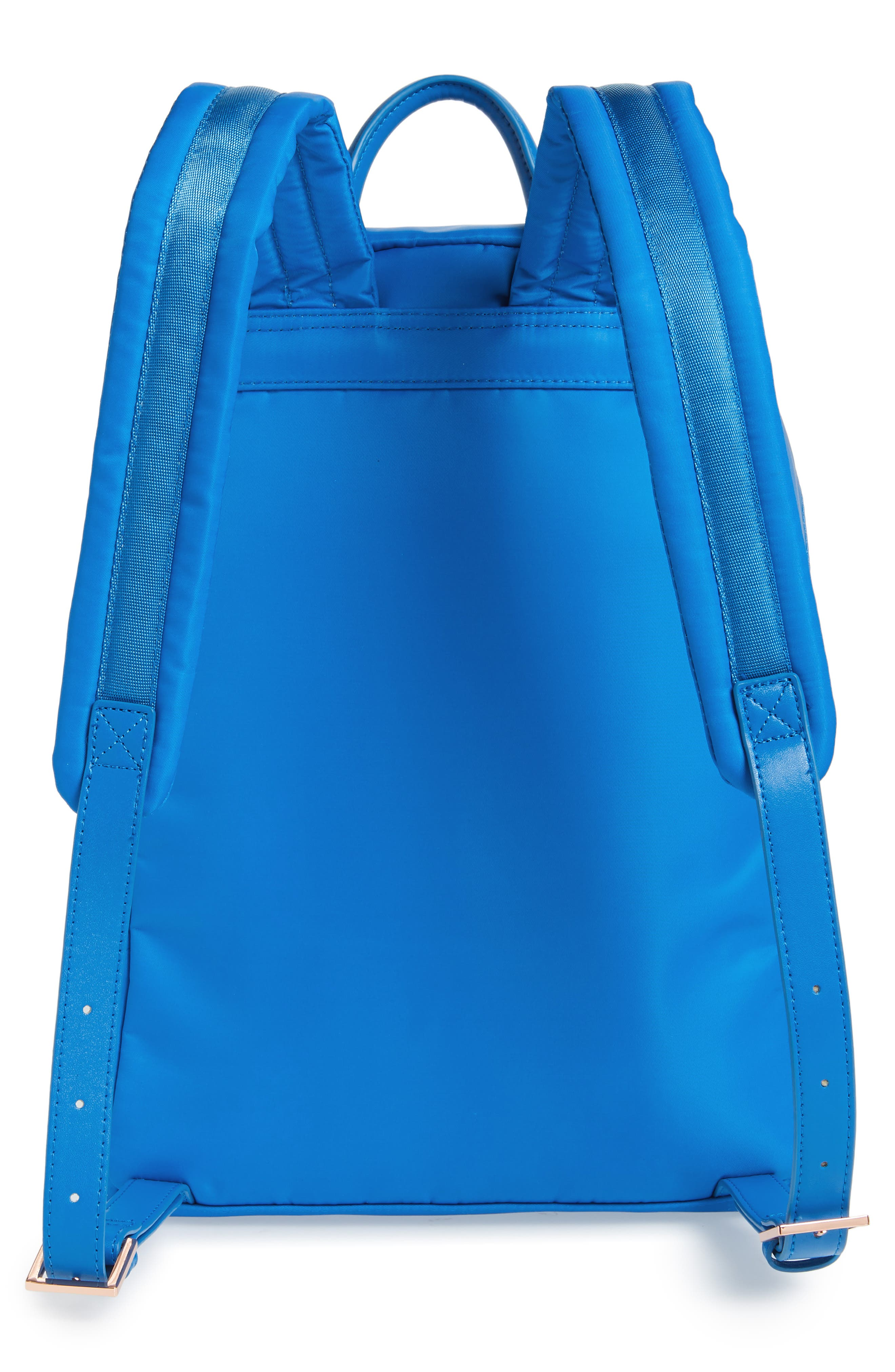 Harmony Print Backpack,                             Alternate thumbnail 3, color,                             BRIGHT BLUE