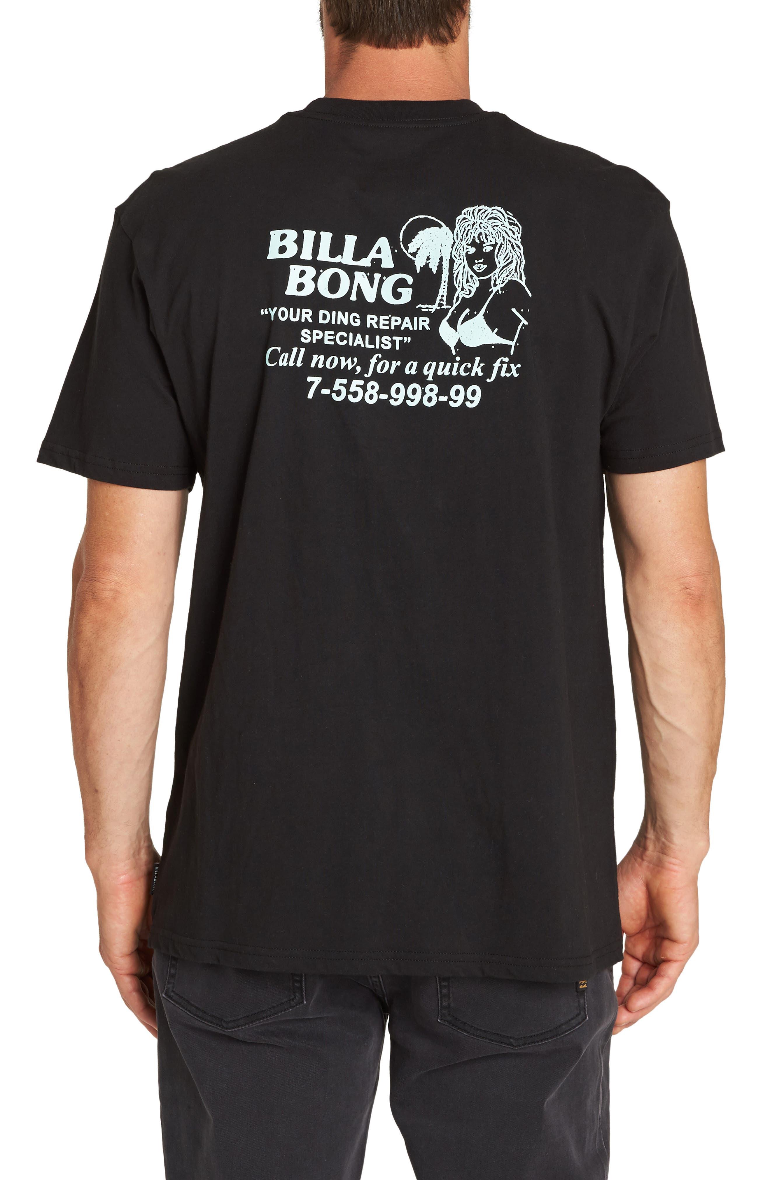 Fix Graphic T-Shirt,                             Alternate thumbnail 2, color,                             BLACK